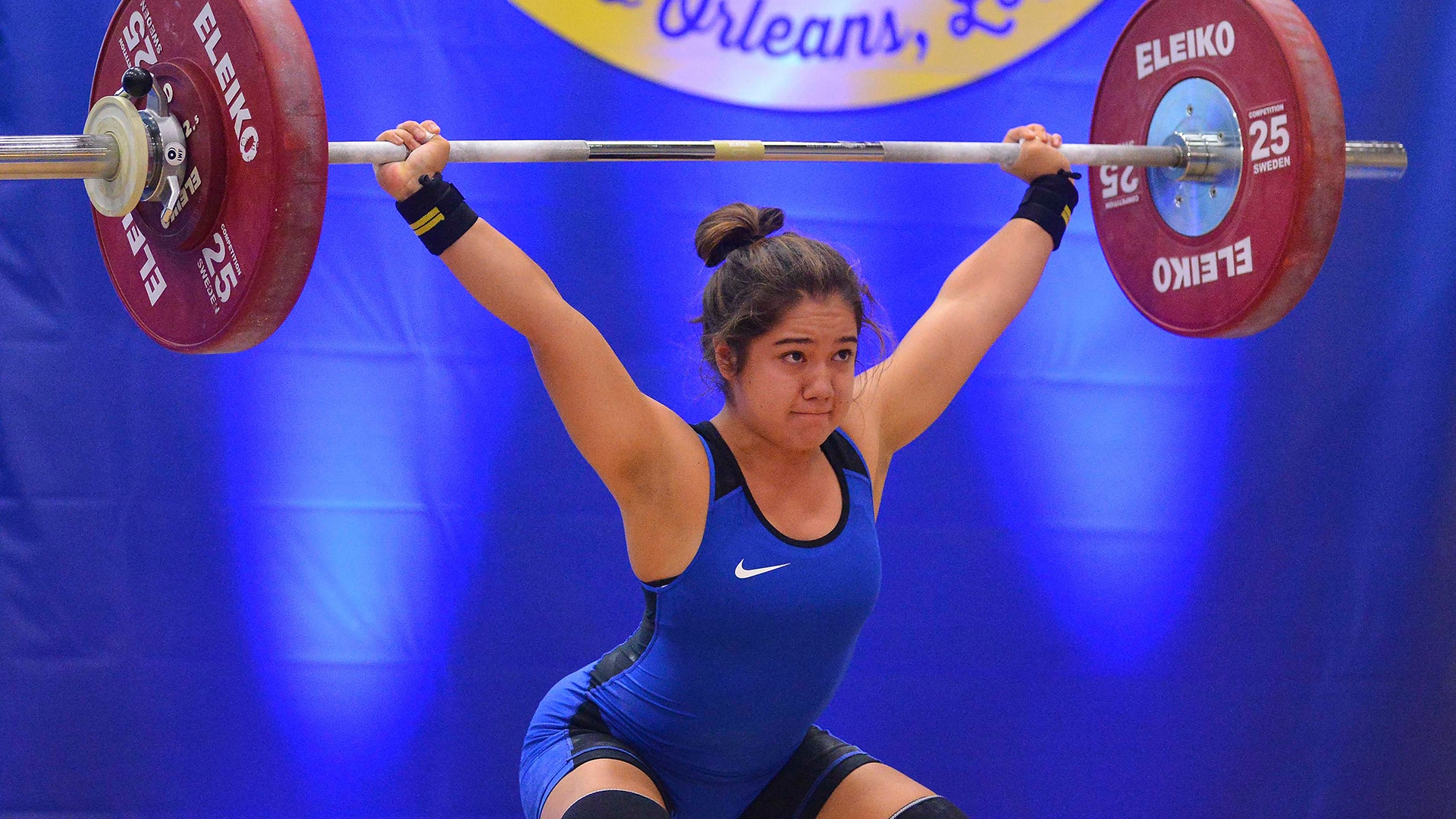 Jourdan Delacruz gave her Olympic qualification bid a boost with a record-breaking Pan American Championships performance.