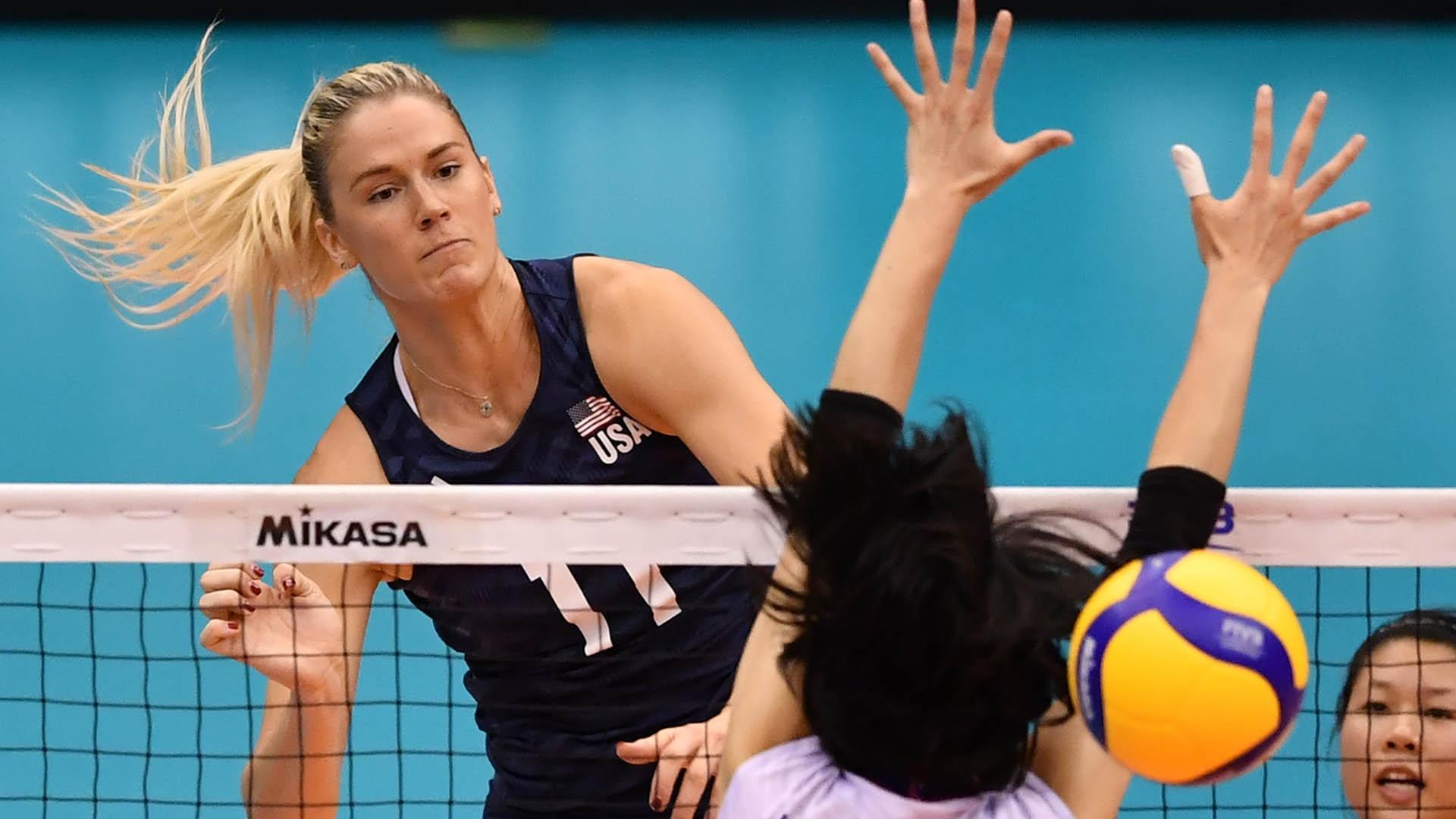 Annie Drews at the 2019 World Cup