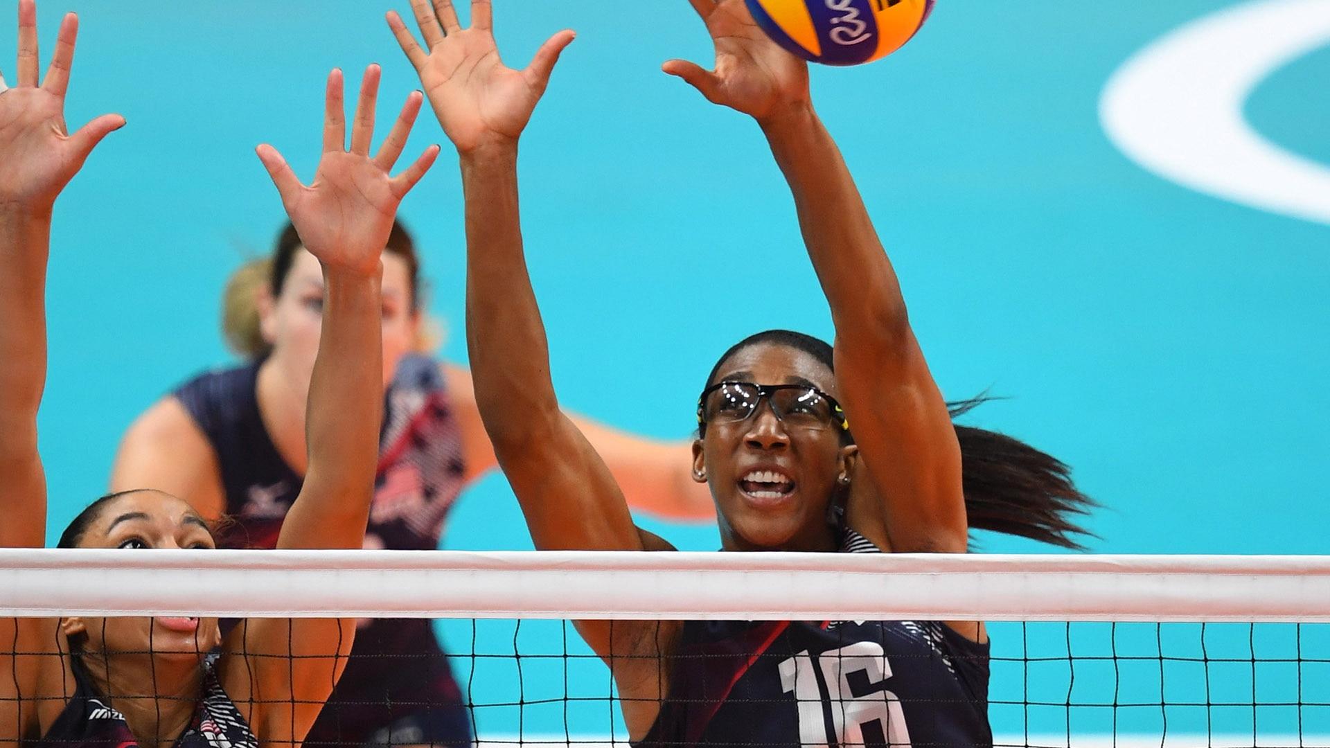 Foluke Akinradewo Gunderson at the 2016 Rio Olympics