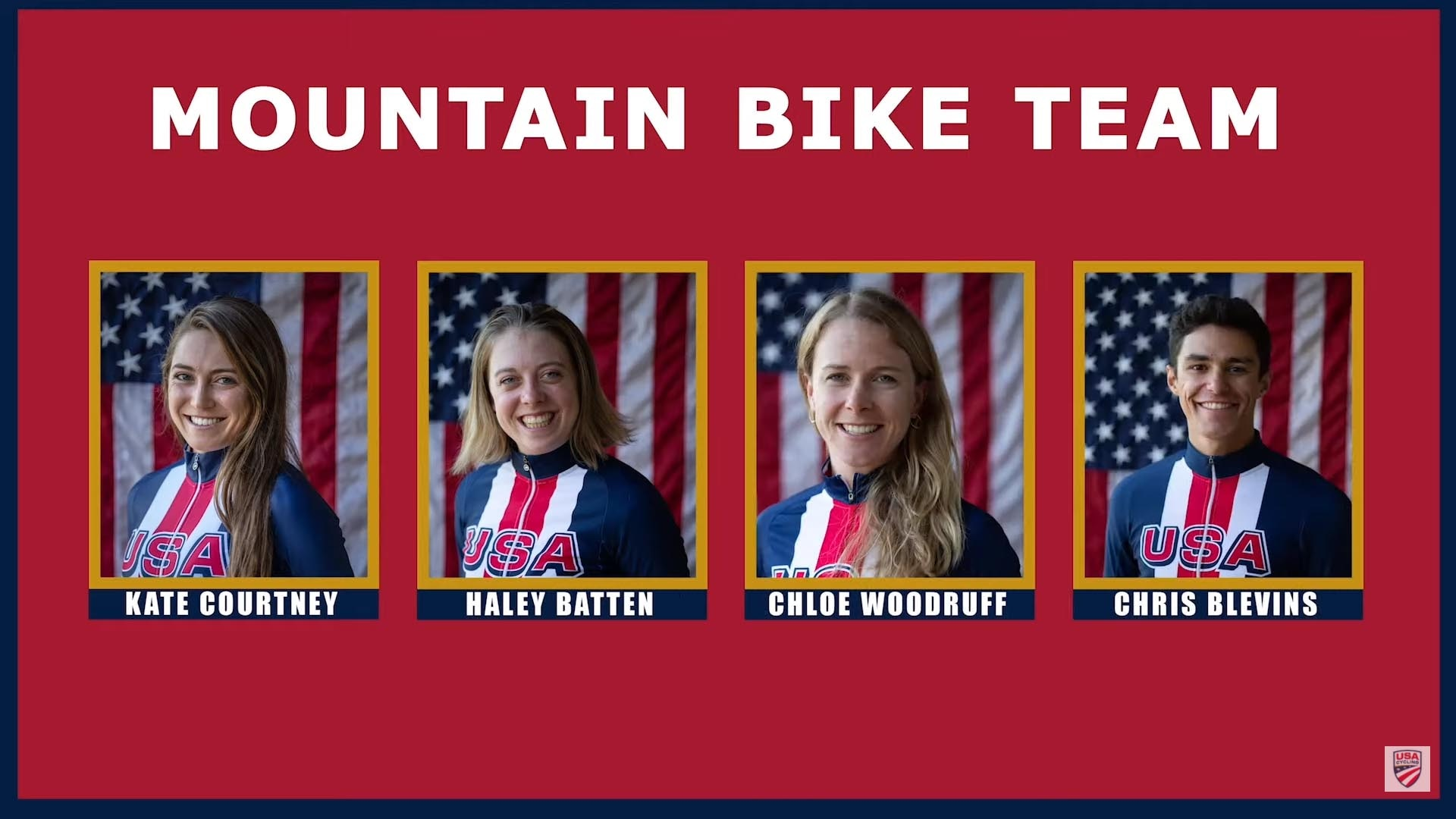 Team USA's mountain biking team roster for the Tokyo Olympics