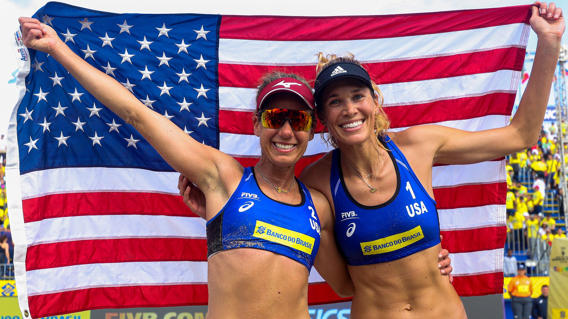 Image for Olympic Beach Volleyball Day 11: Swiss advance to face Ross/Klineman in semis