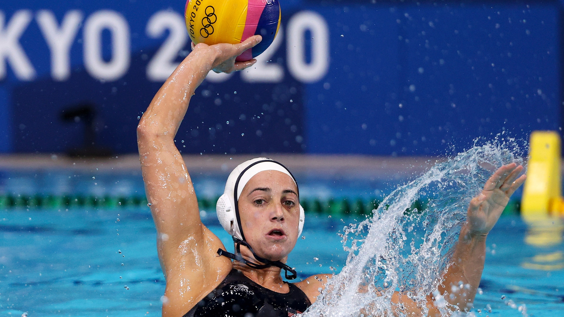 Image for Team USA's Steffens makes splash with career Olympic water polo record