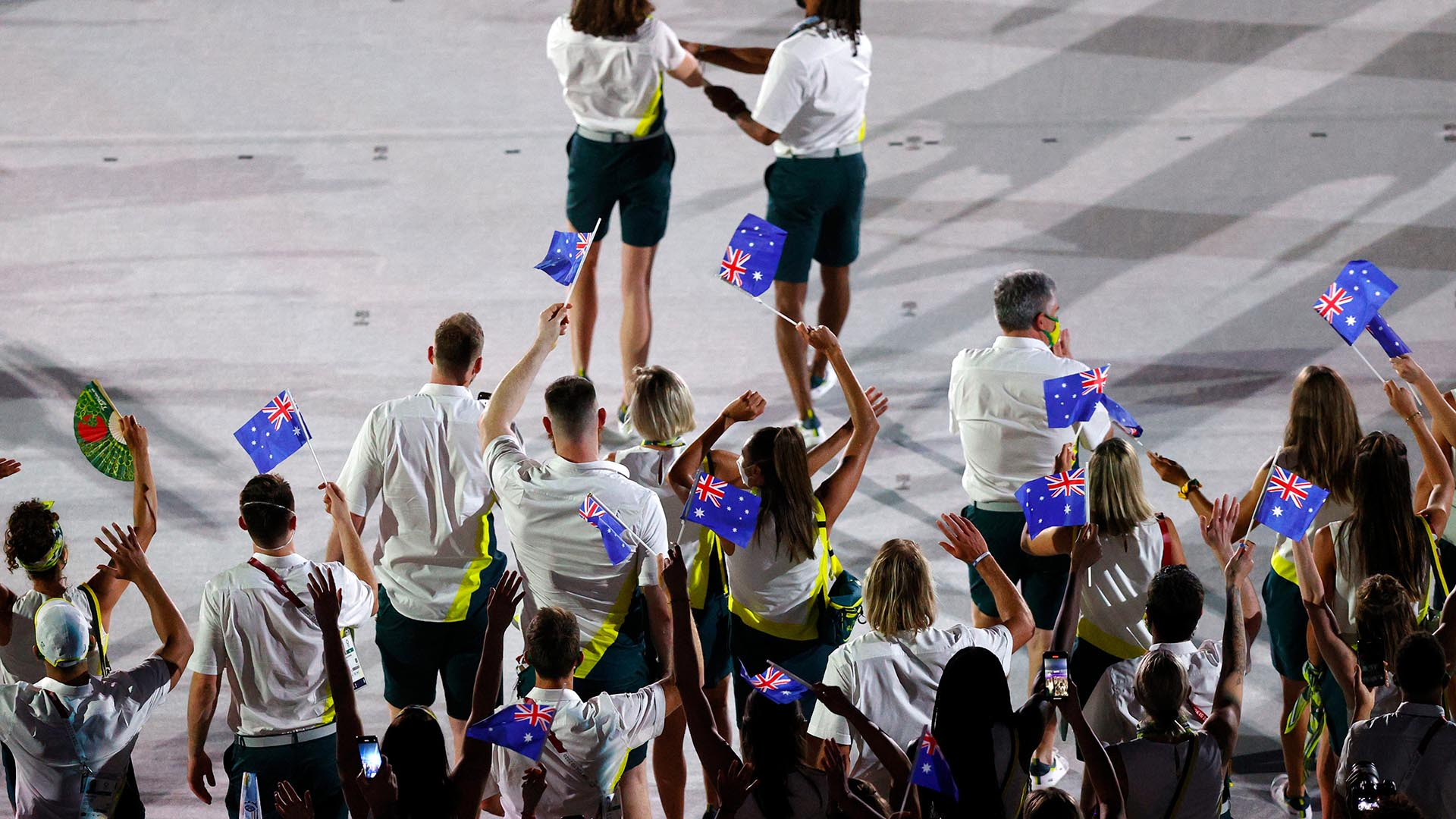 Image for Two Australian athletes, team member remain in isolation-team