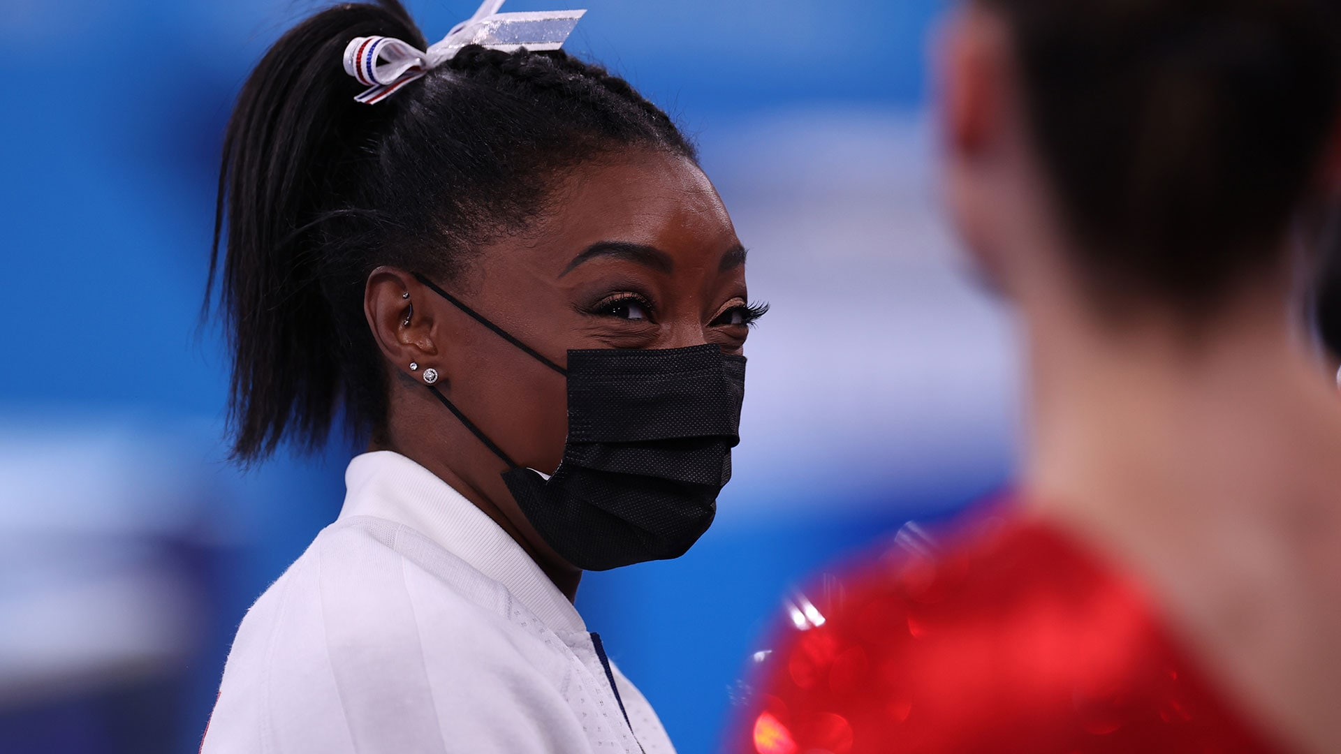Simone Biles said she is dealing with a