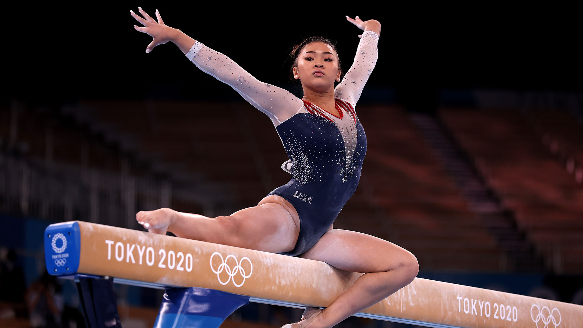 Image for Suni Lee joins exclusive club of American Olympic All-Around champions