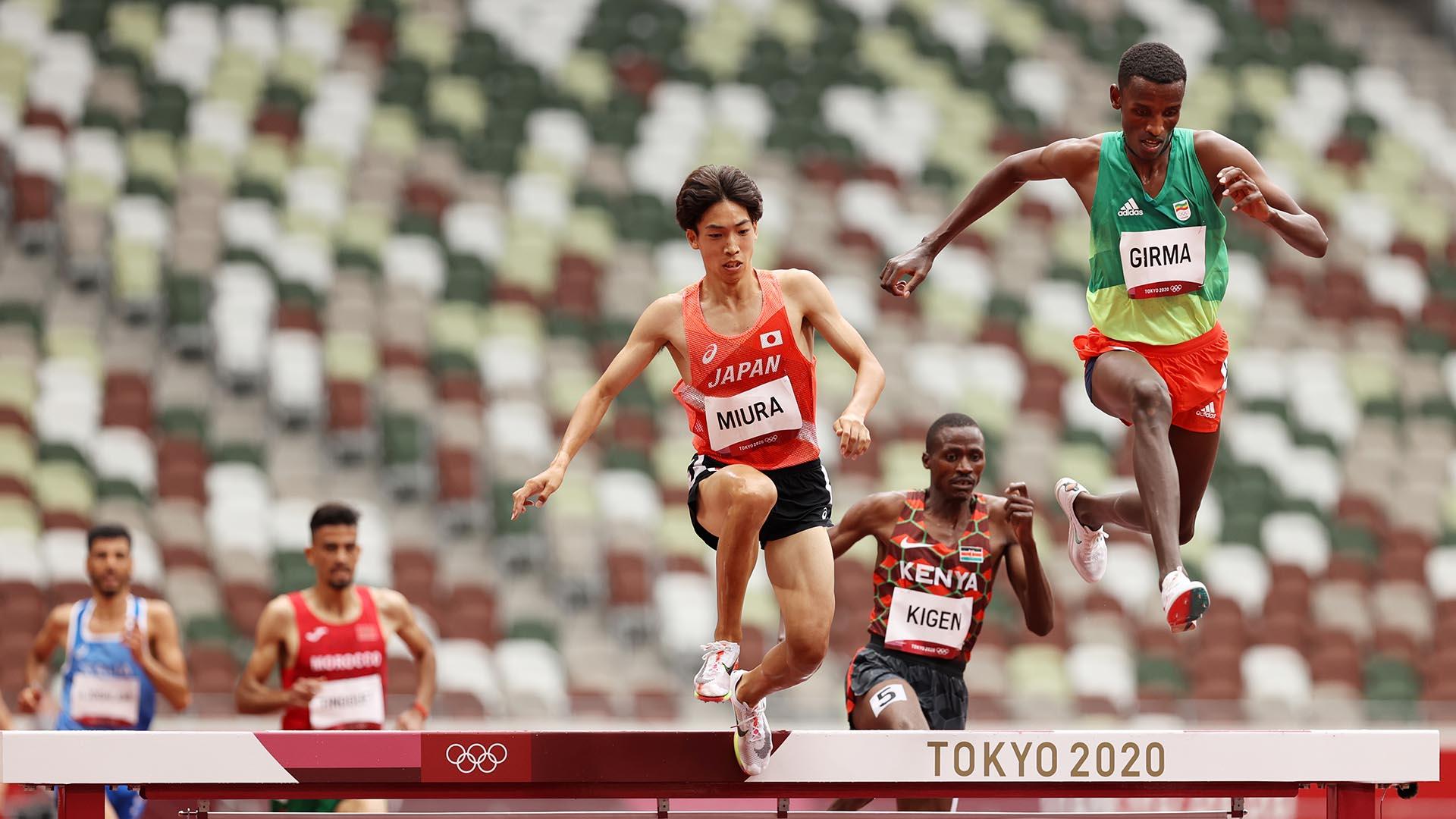 Image for Ethiopia's Lamecha Girma tops steeplechase qualifying