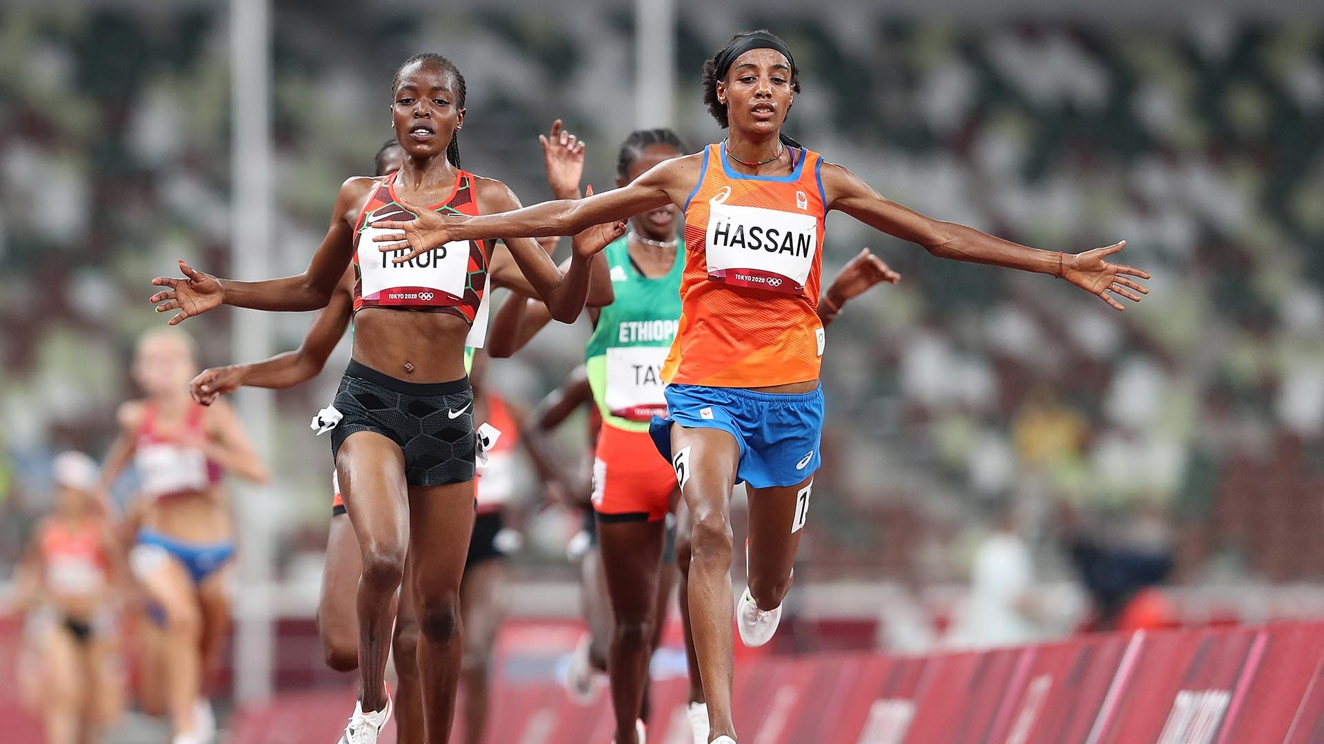 Image for Hassan, Obiri ease into 5,000m final