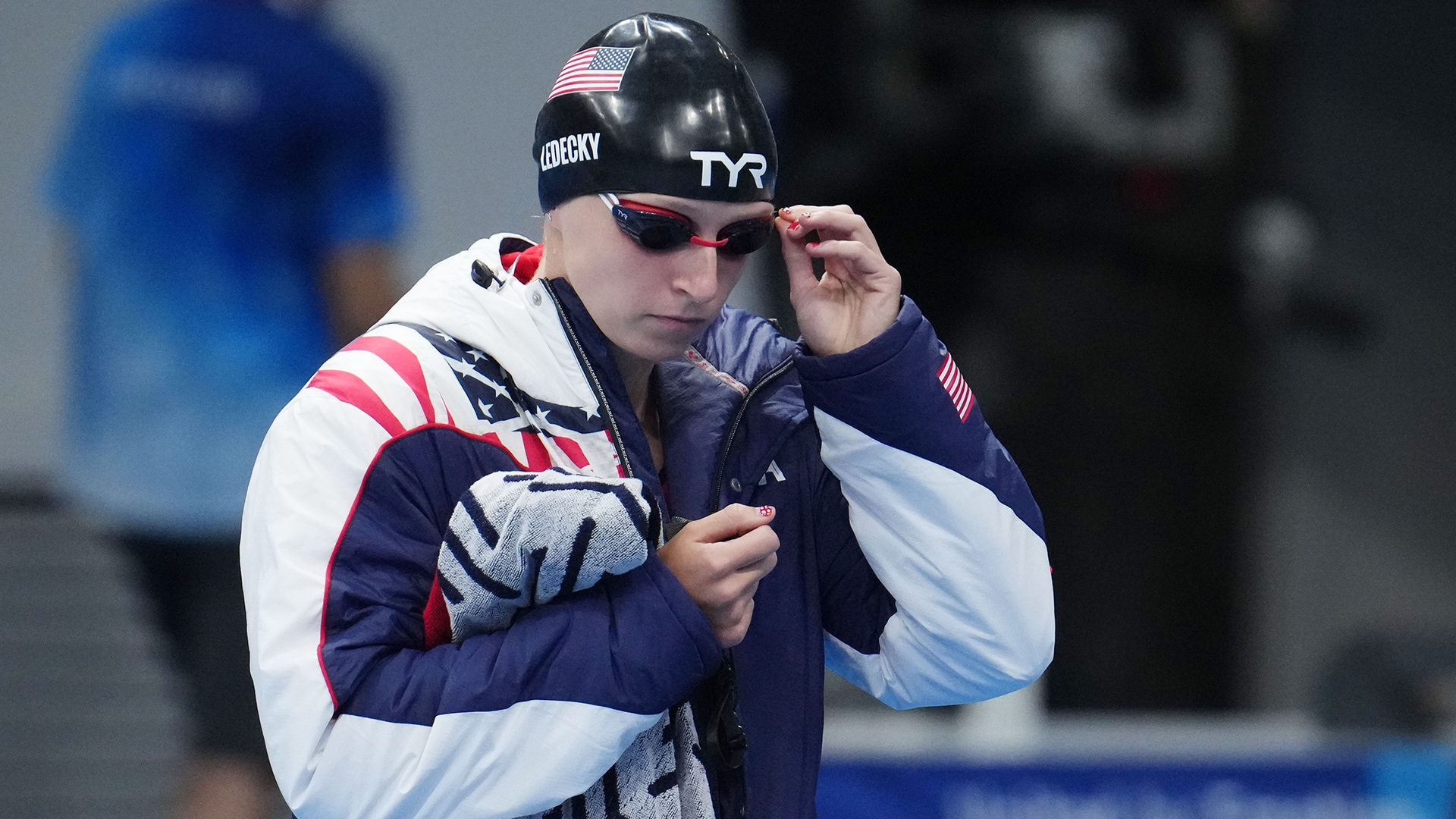 Katie Ledecky will become the first female swimmer in history to race the 200m freestyle and...