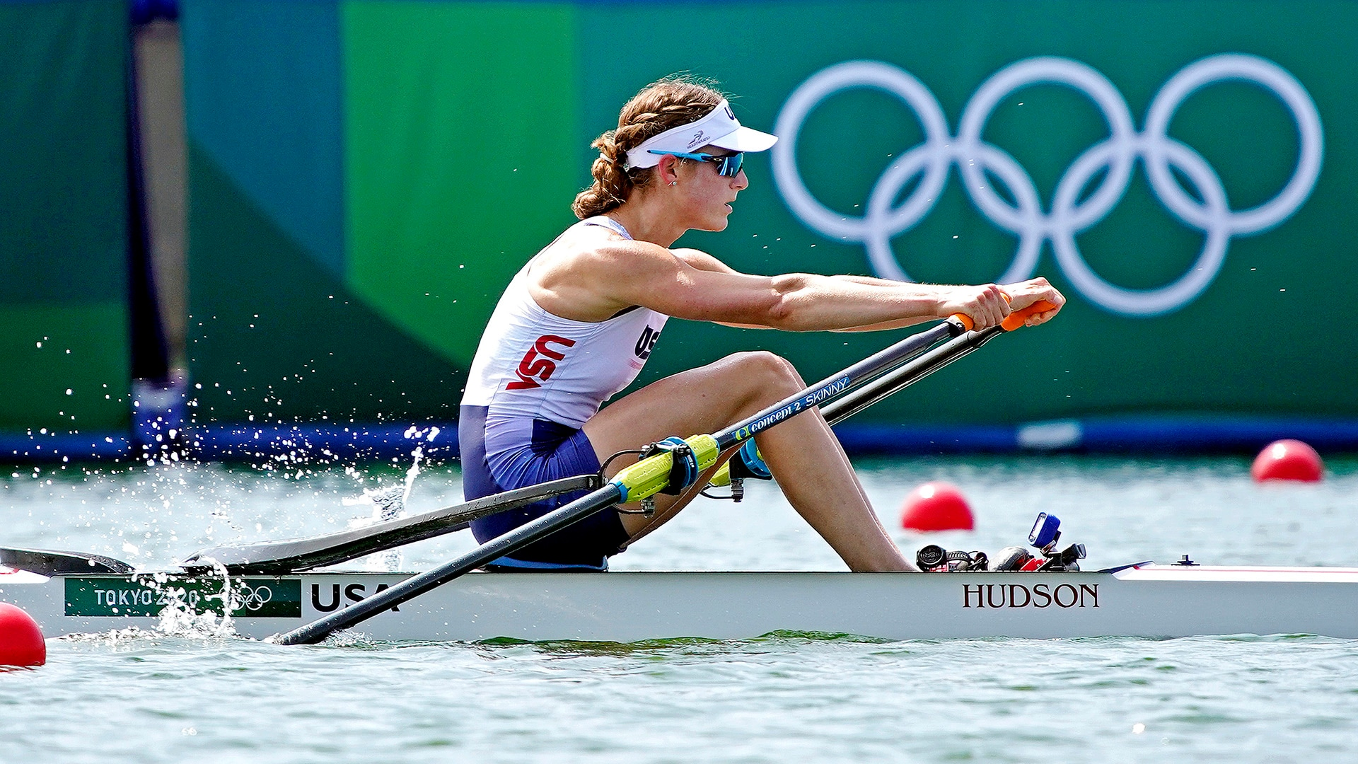 Image for USA's Kara Kohler advances to single sculls quarterfinals