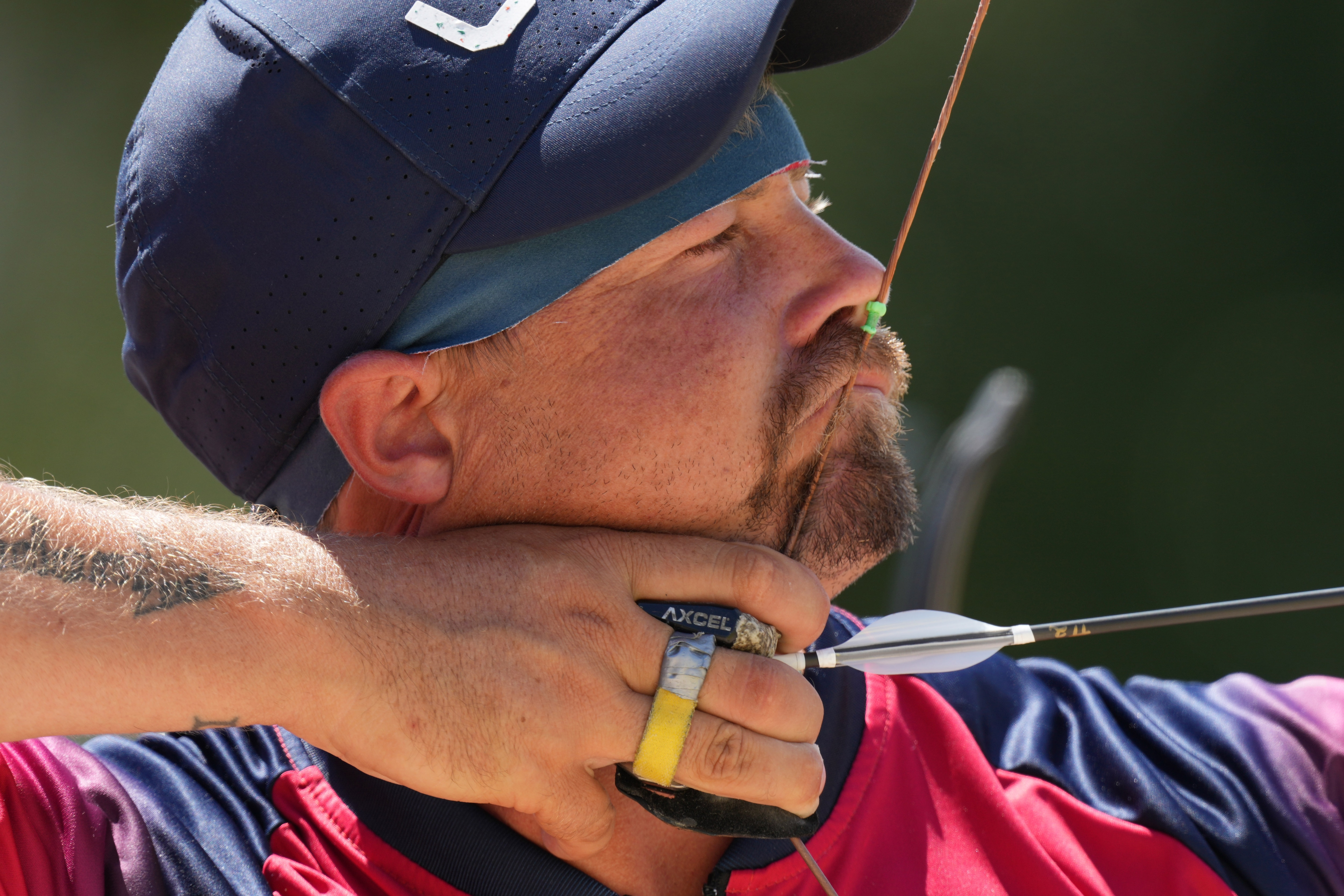 Image for Brady Ellison finishes second in Olympic archery ranking round