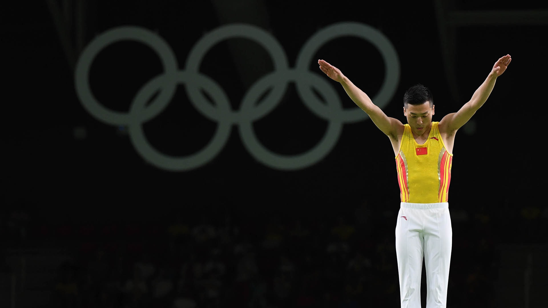 Trampoline competition gets underway on Friday, July 30 at the Tokyo Olympics.  (credit: USA...