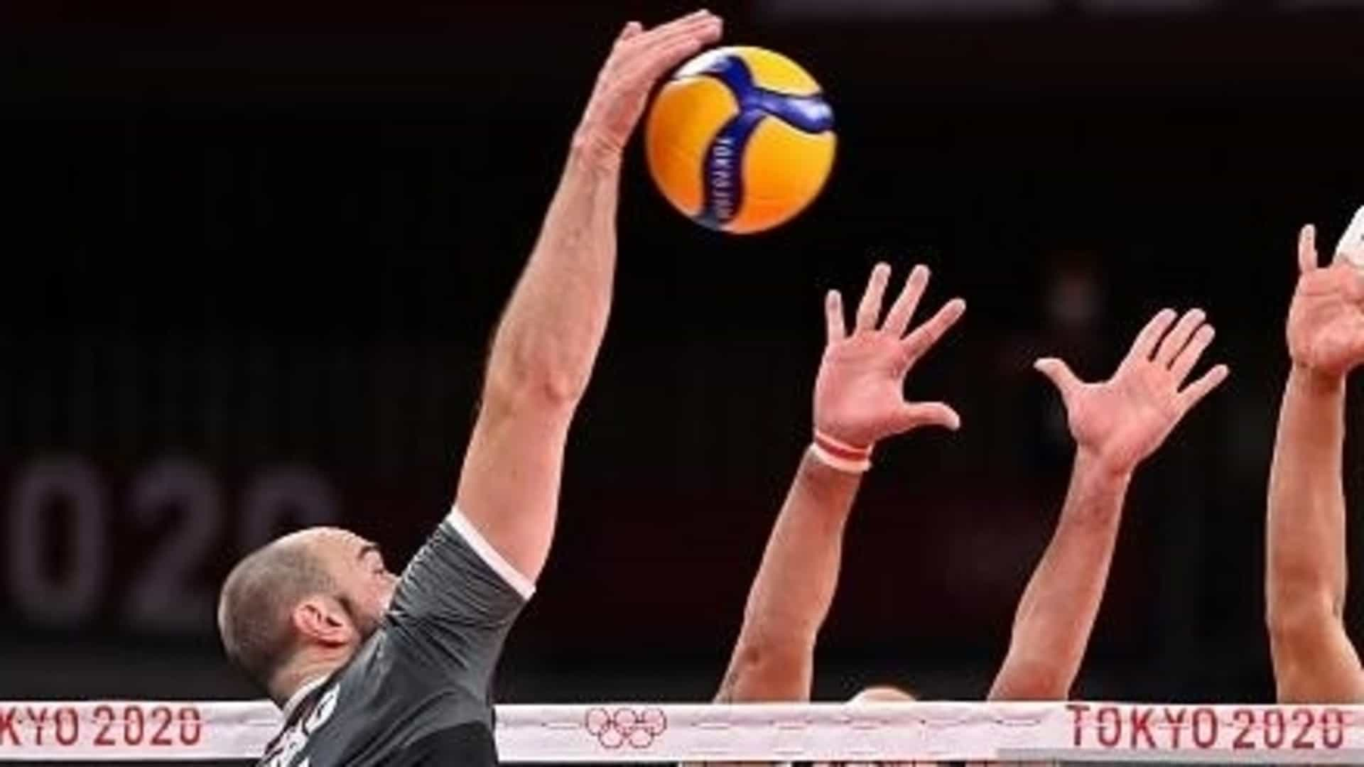 Image for Olympic Volleyball Day 7: Canadian men keep pace in balanced Pool A