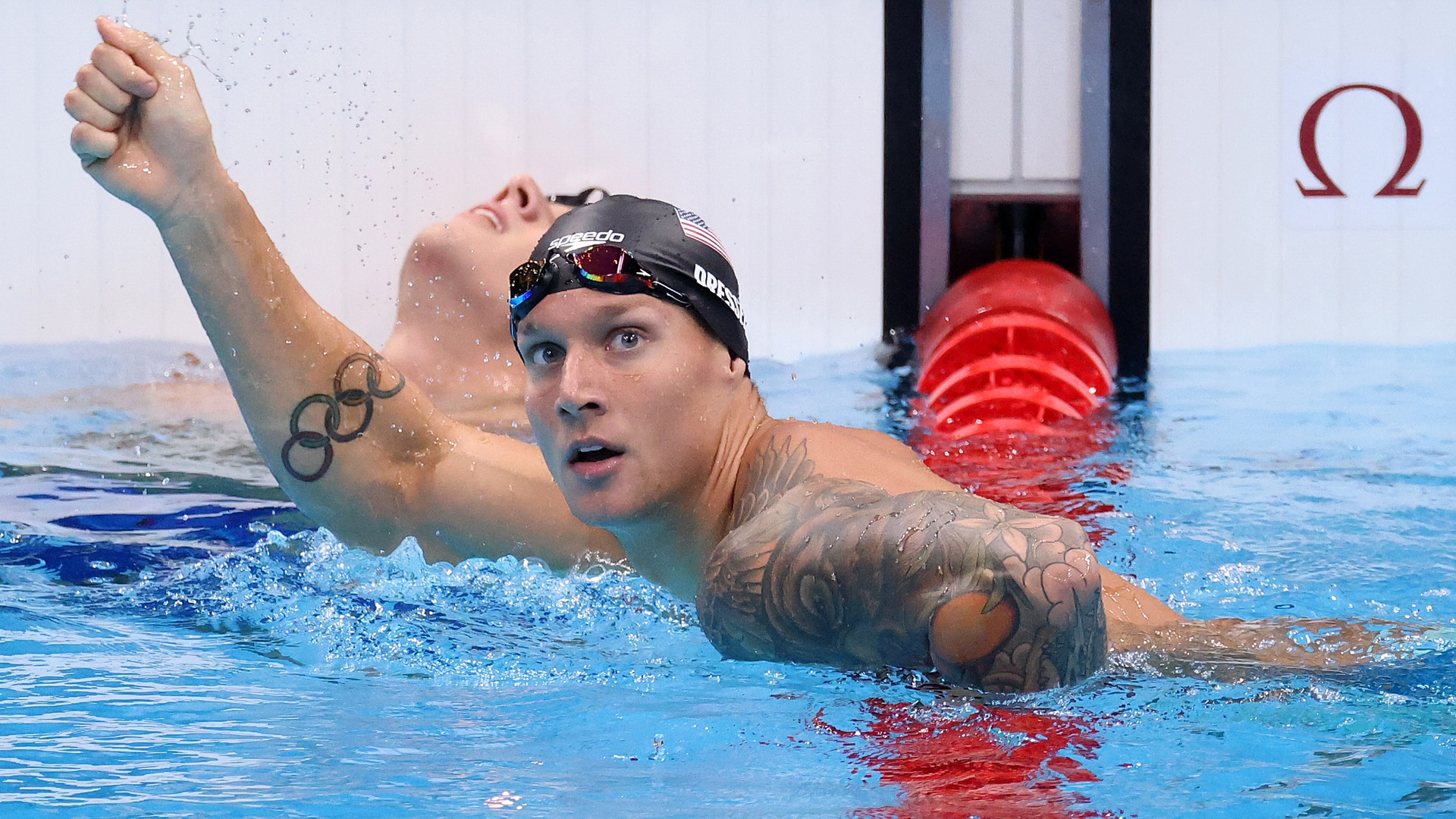 Image for Caeleb Dressel scares own world record in 100m butterfly semifinal