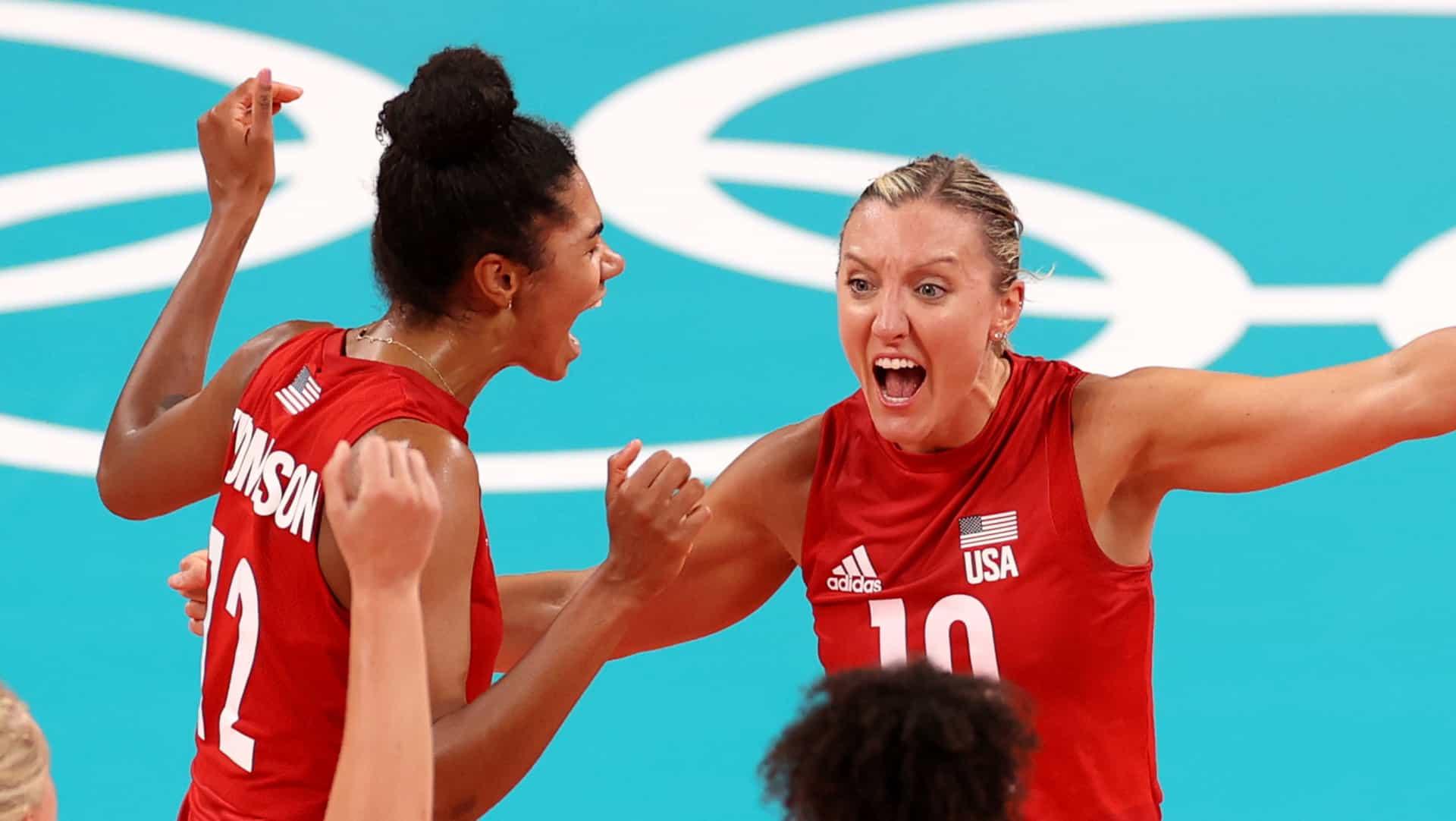 Image for U.S. women rebound in five sets to top Turkey