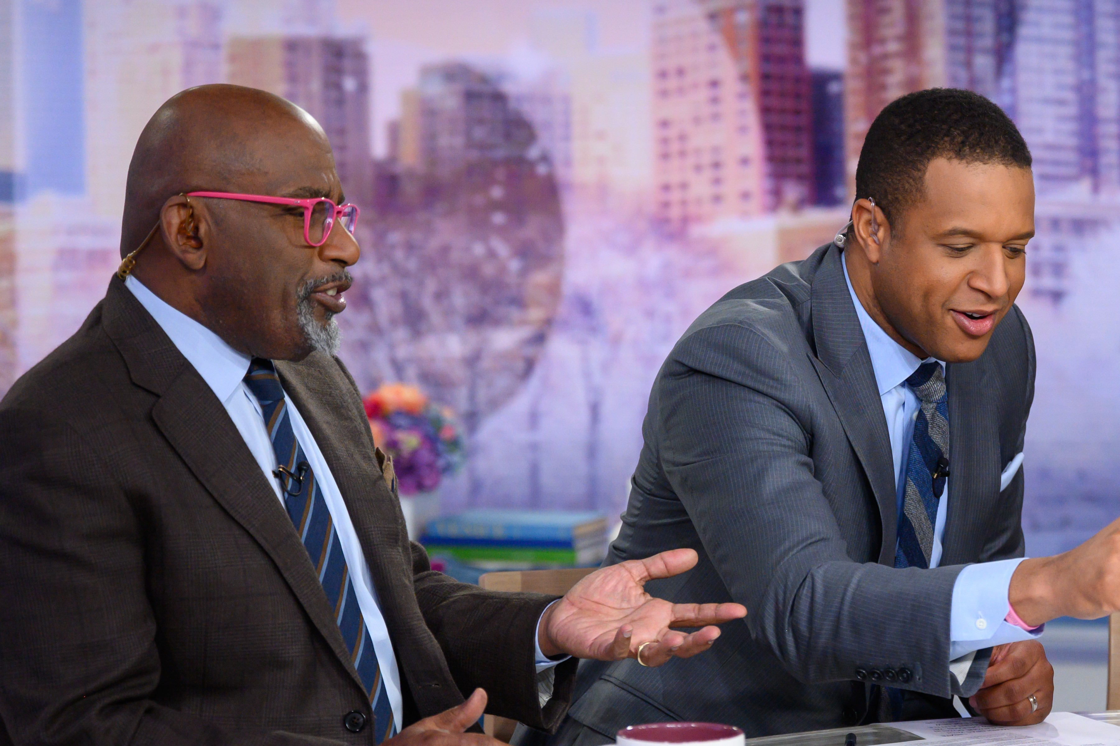 Al Roker and Craig Melvin on the TODAY set (credit: NBCU Photo Bank via Getty Images)