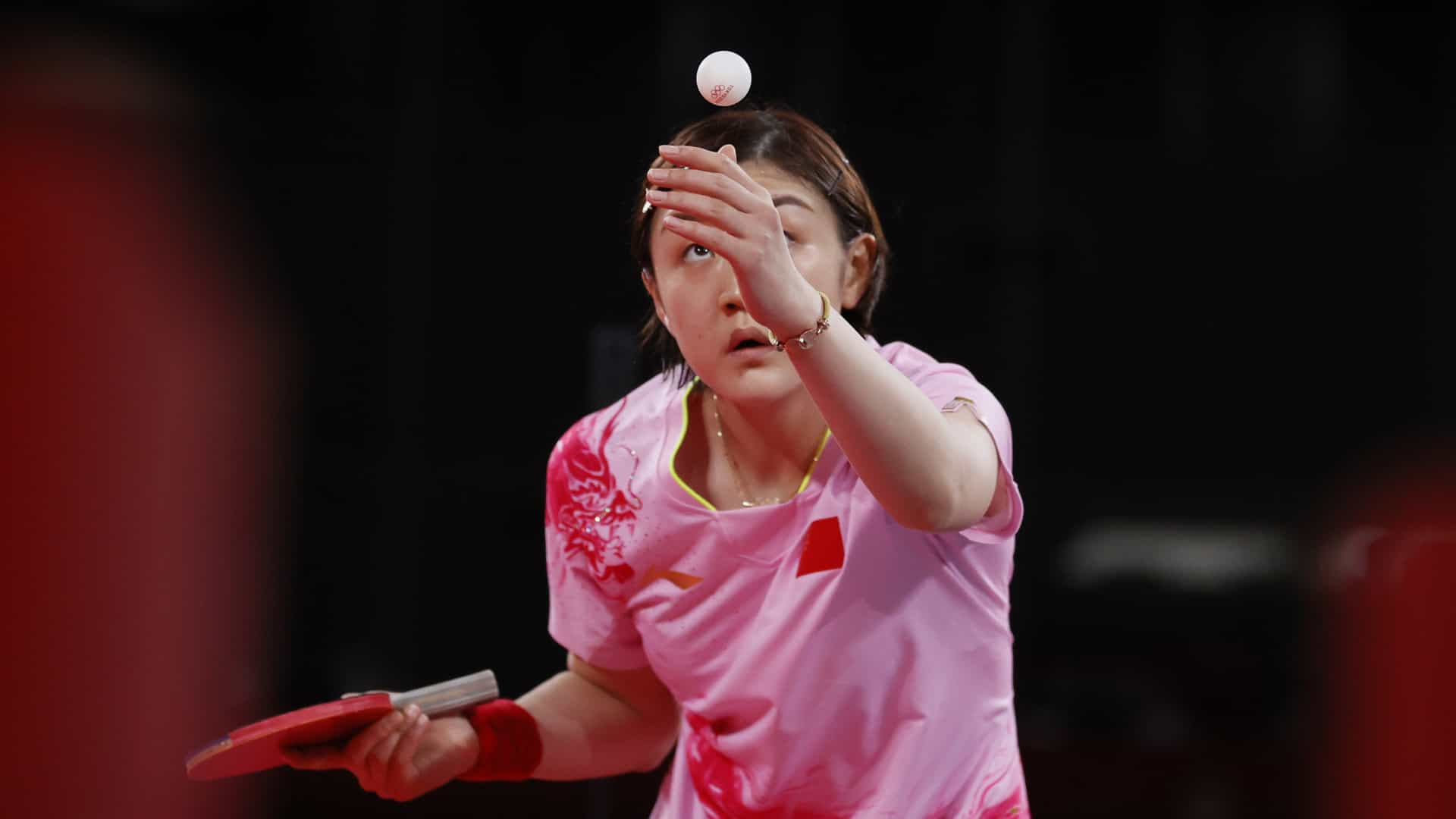 Image for Chen wins all-Chinese women's table tennis final
