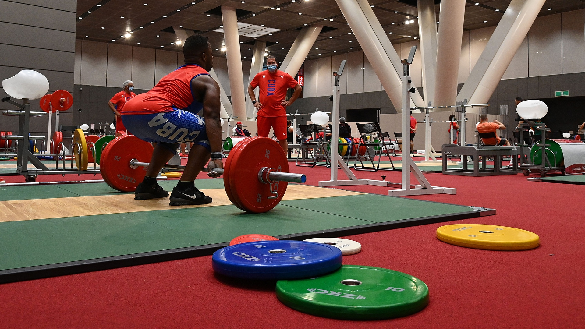 Image for How to watch weightlifting at the Tokyo Olympics