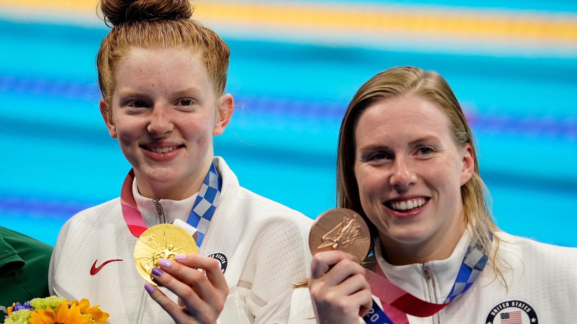 Alaskan teen swimmer Lydia Jacoby stuns in breaststroke win