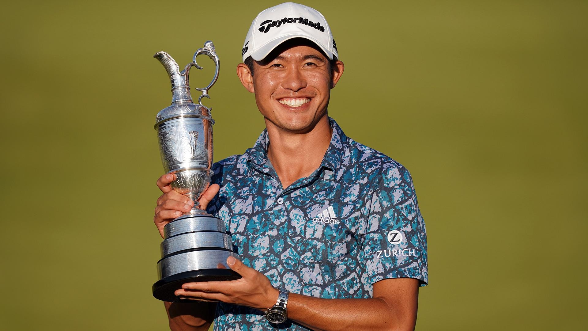 Image for Collin Morikawa wins Open Championship ahead of Tokyo Olympics