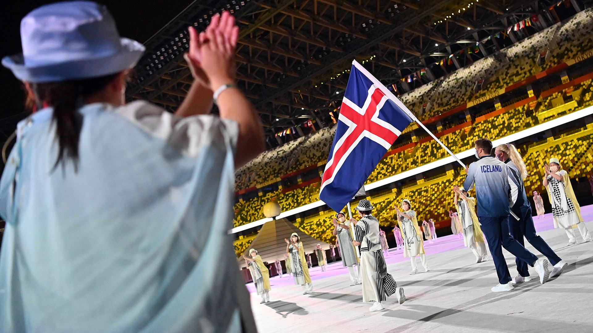 Image for No, countries did not march out of order at the Tokyo Olympics Opening Ceremony
