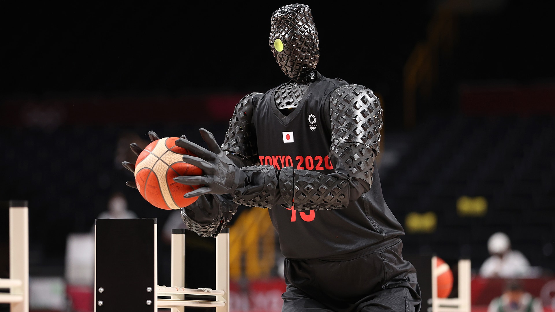 Robots are taking over, and their reign of terror will begin on the basketball court. (credit:...