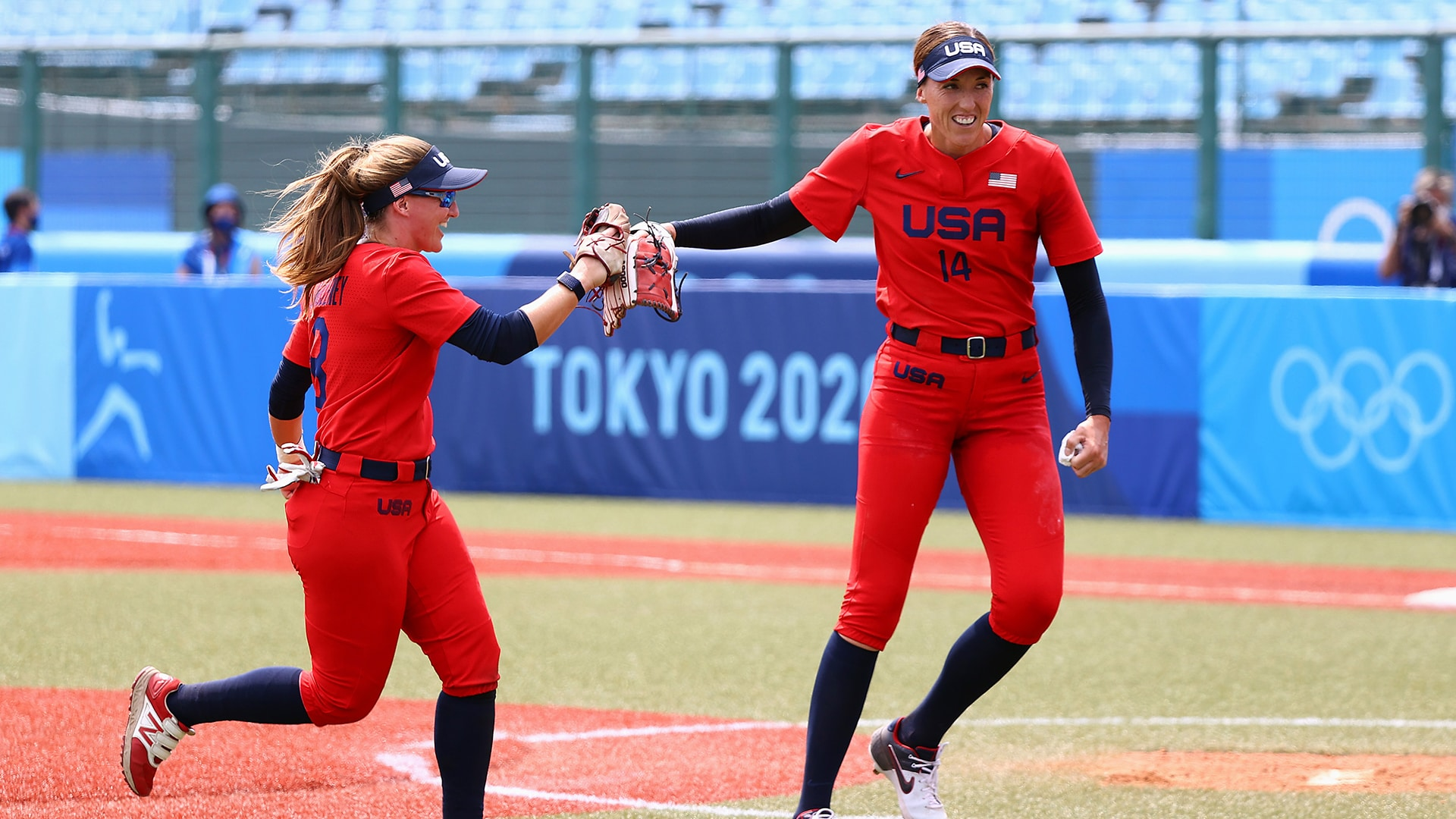 Image for Monica Abbott one-hits Canada as U.S. wins 2nd prelim game