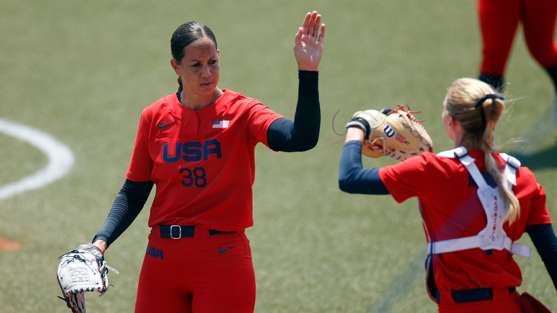 Image for U.S. shuts out Italy in Olympic softball opener