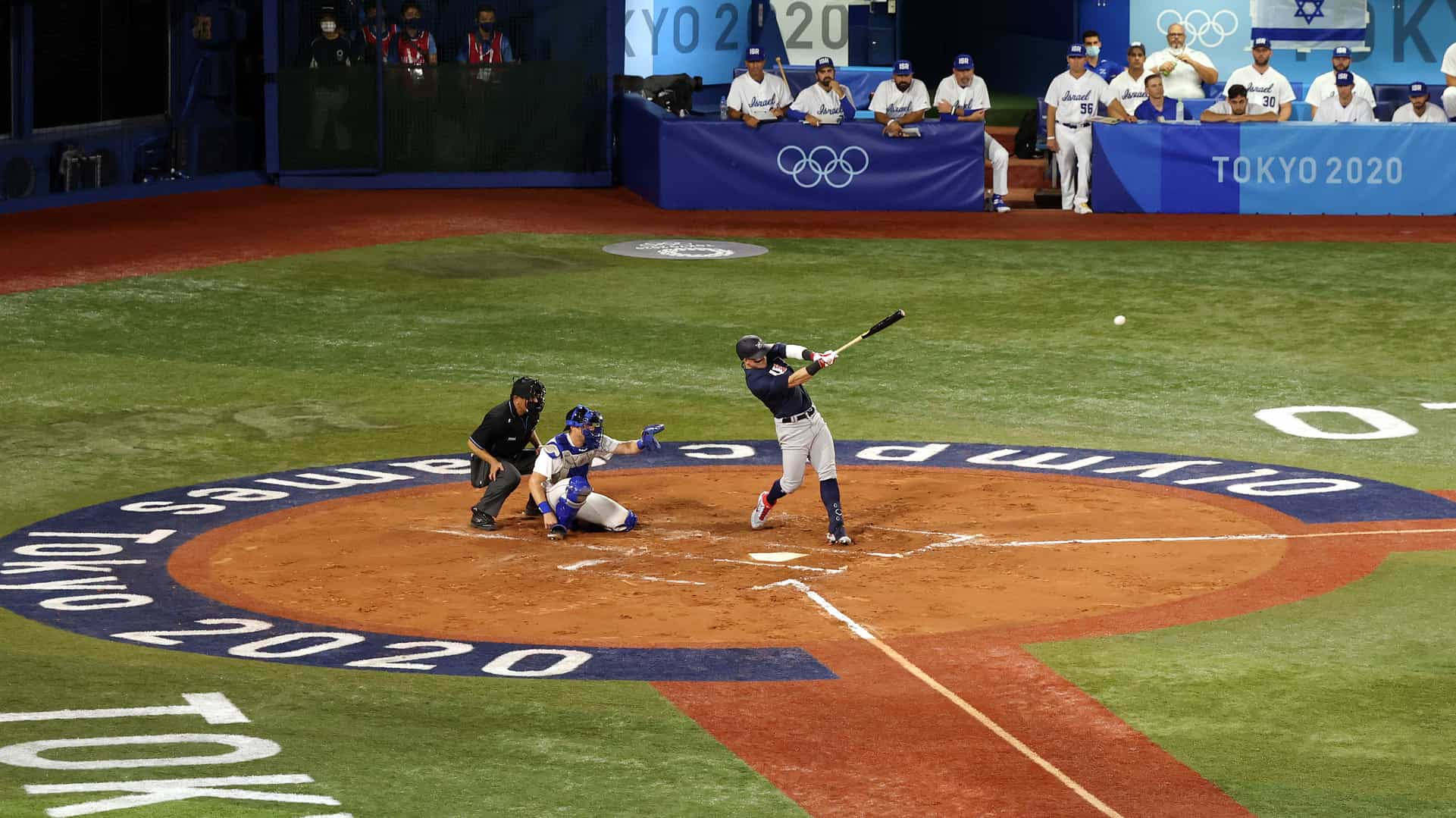 Image for U.S. baseball team cruises to opening win over Israel
