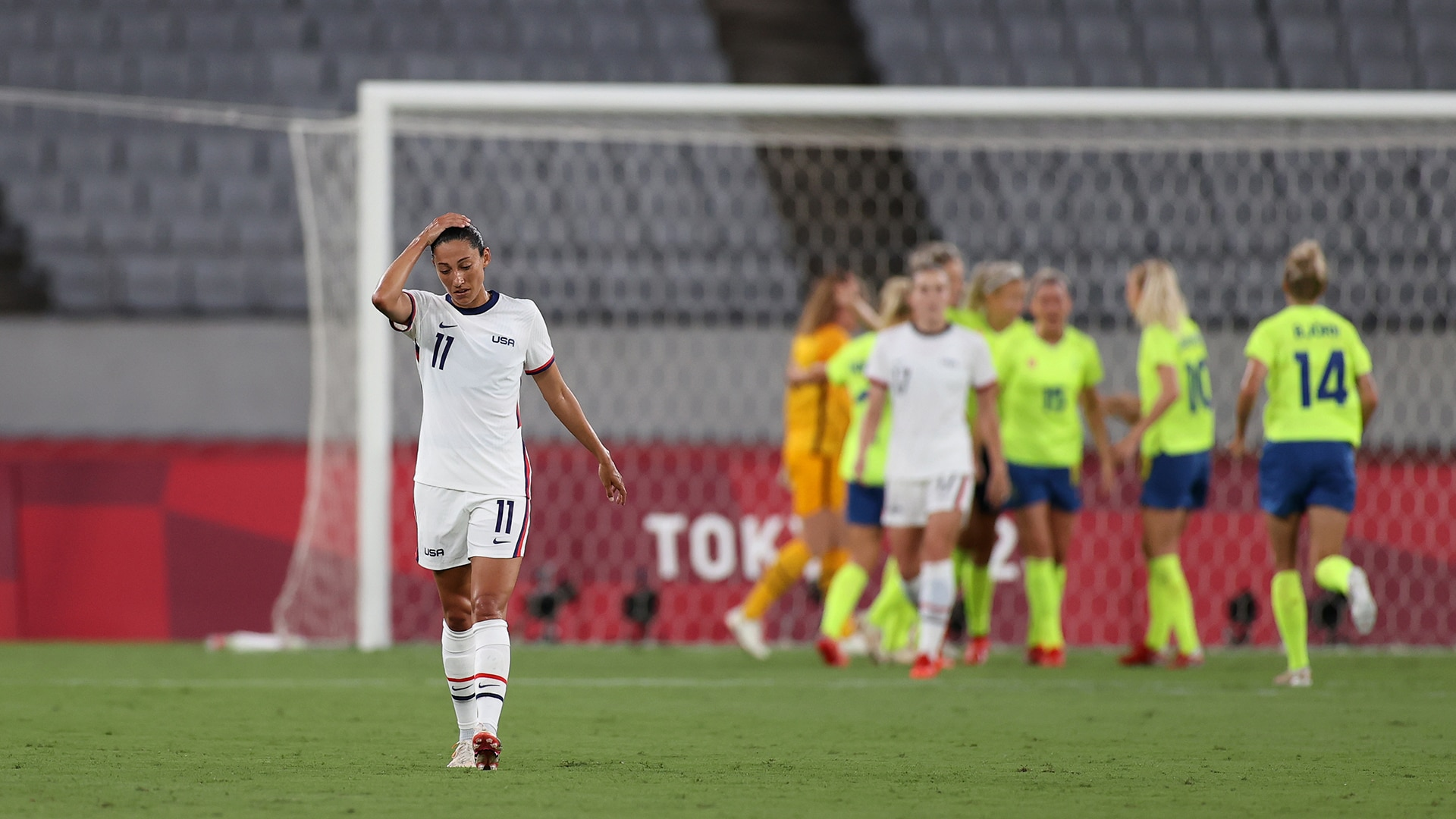 Image for U.S. women thrashed by Sweden in stunning Olympic defeat