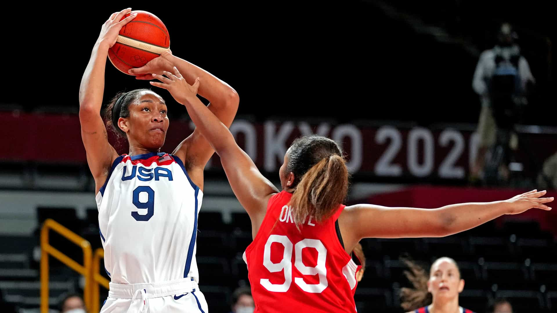 Image for USA women surge past Japan to stay unbeaten in Tokyo