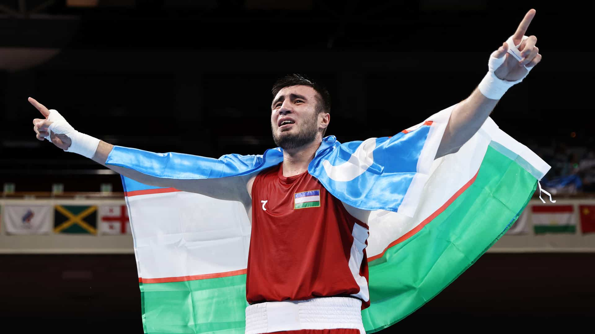 Image for Olympic Boxing Day 16: Uzbekistan's Jalolov wins super heavyweight gold on final day of competition