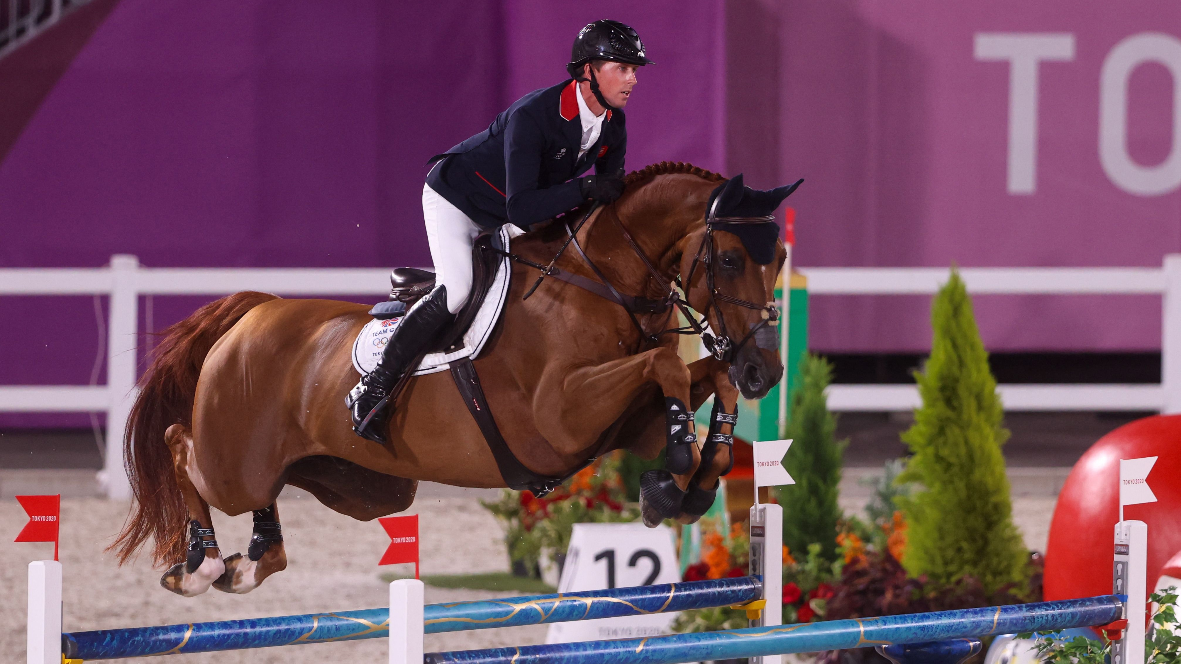 Image for Maher tops individual show jumping qualifying as Americans fall short of final