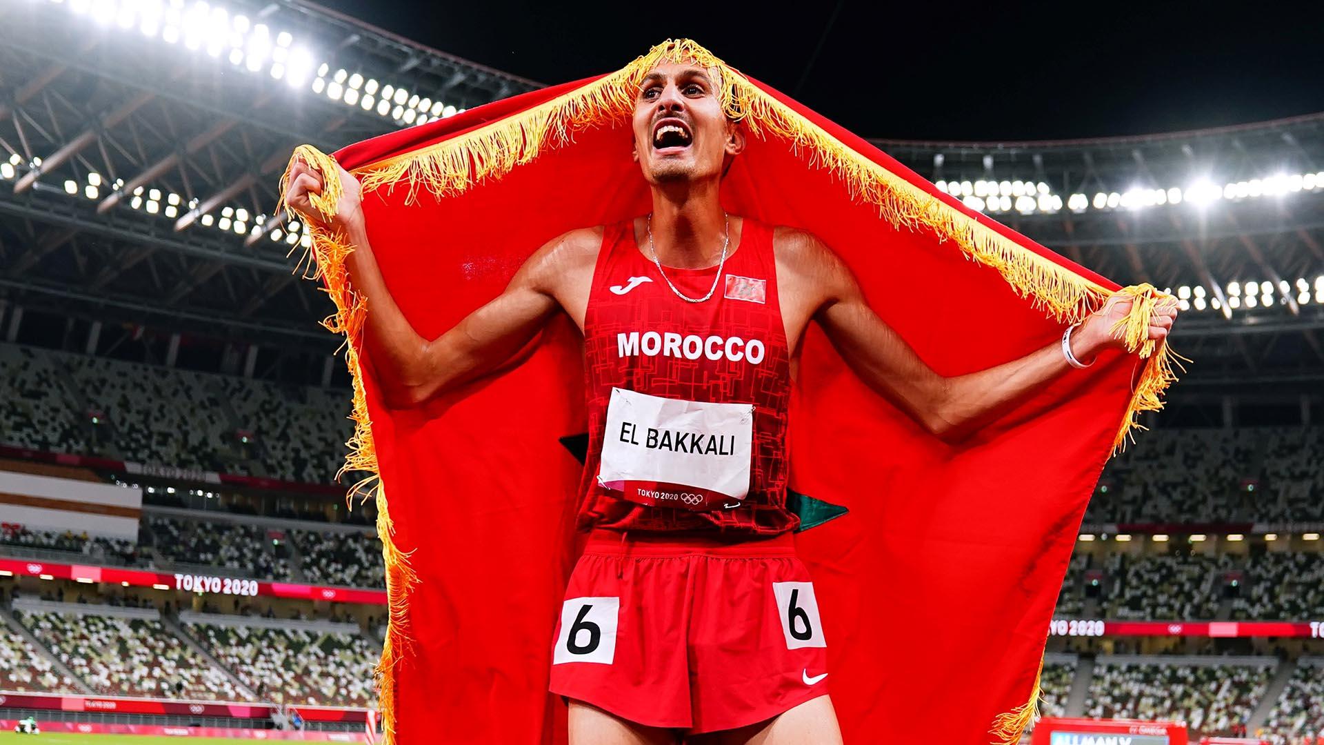 Image for Moroccan El Bakkali ends Kenyan steeplechase domination