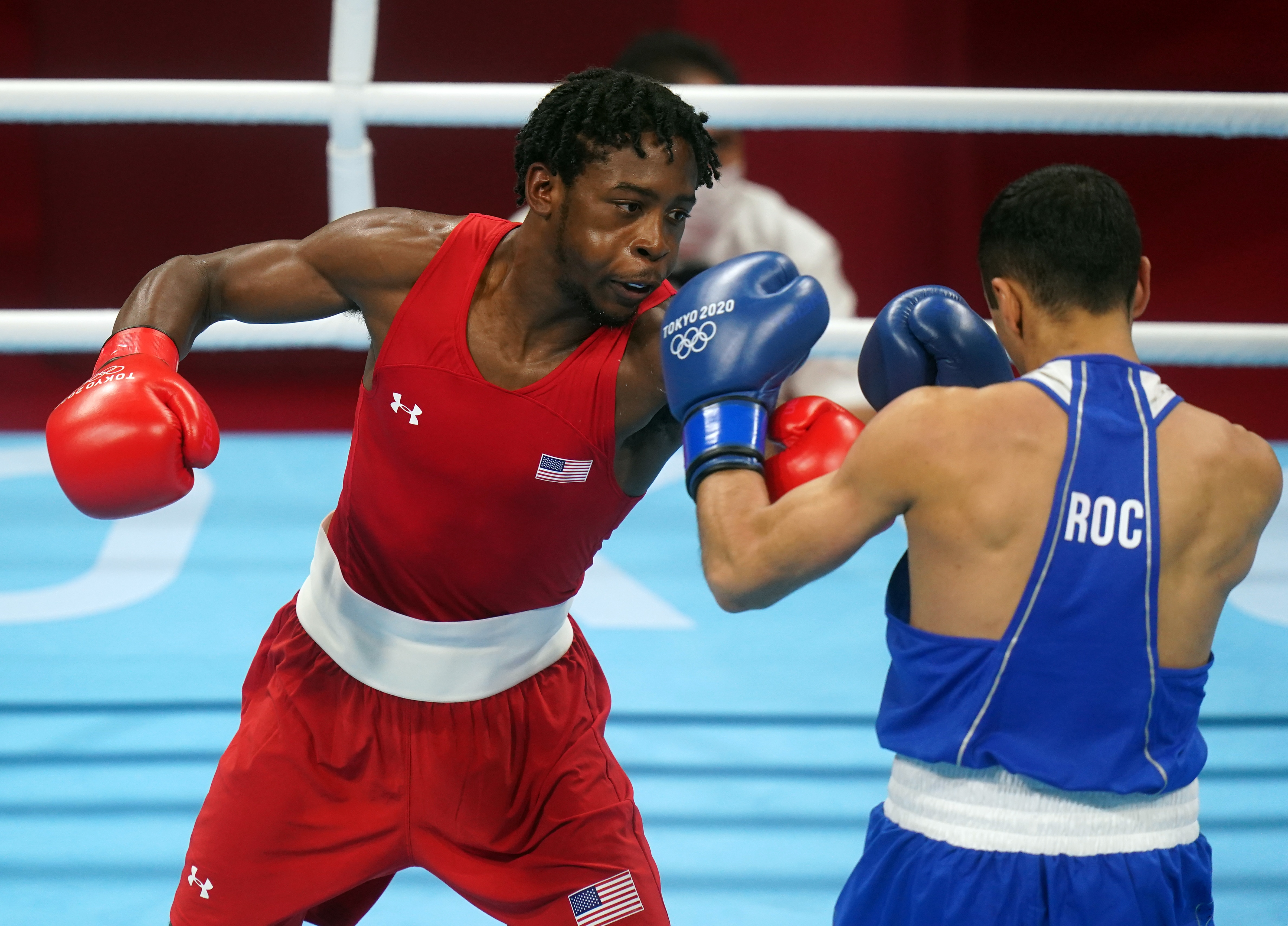 Image for U.S. lightweight Davis clinches boxing medal, looks to end men's gold-medal drought