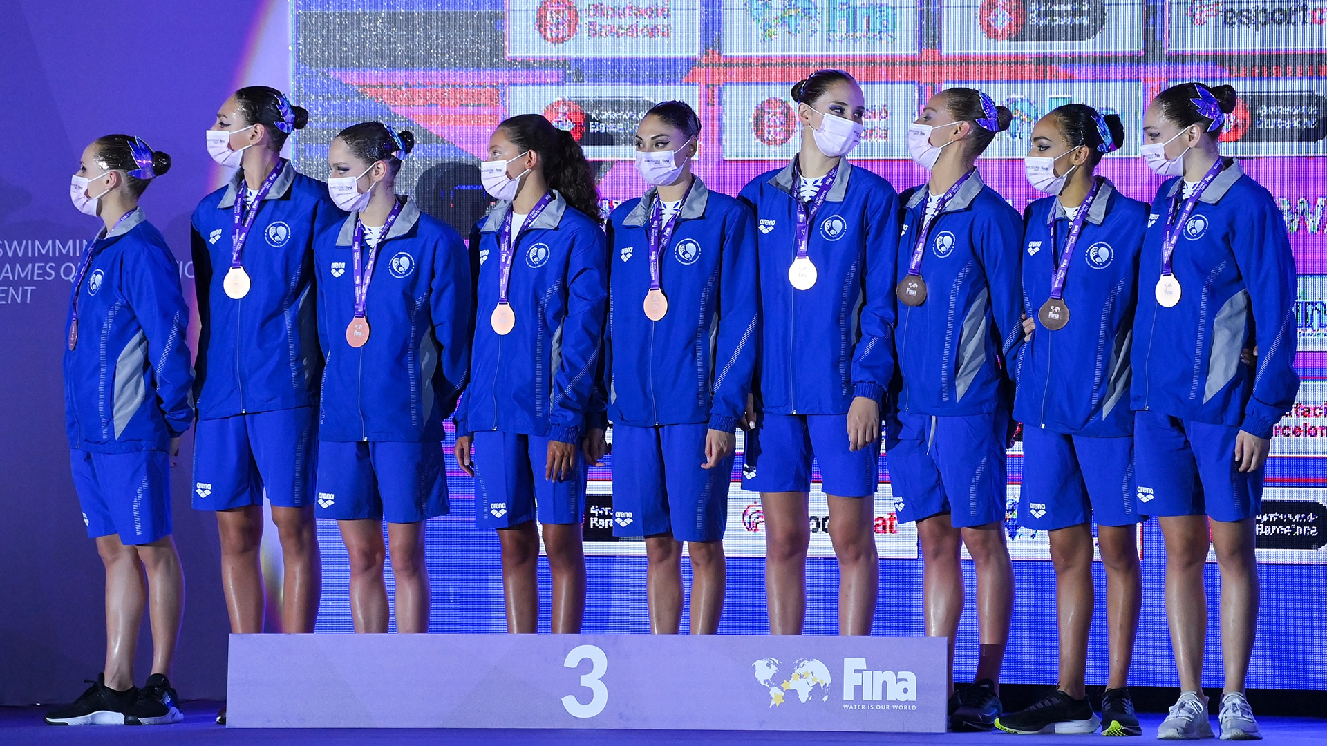 Image for Greece pulls artistic swimming team after four COVID-19 cases