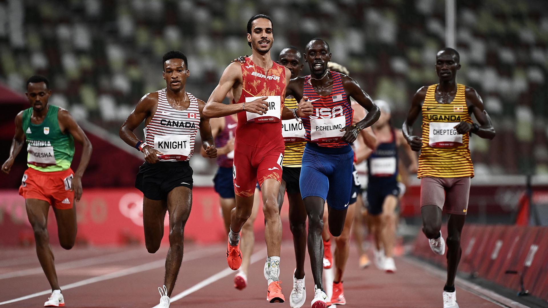 Image for Spain's Katir cruises into 5,000m final with fastest time
