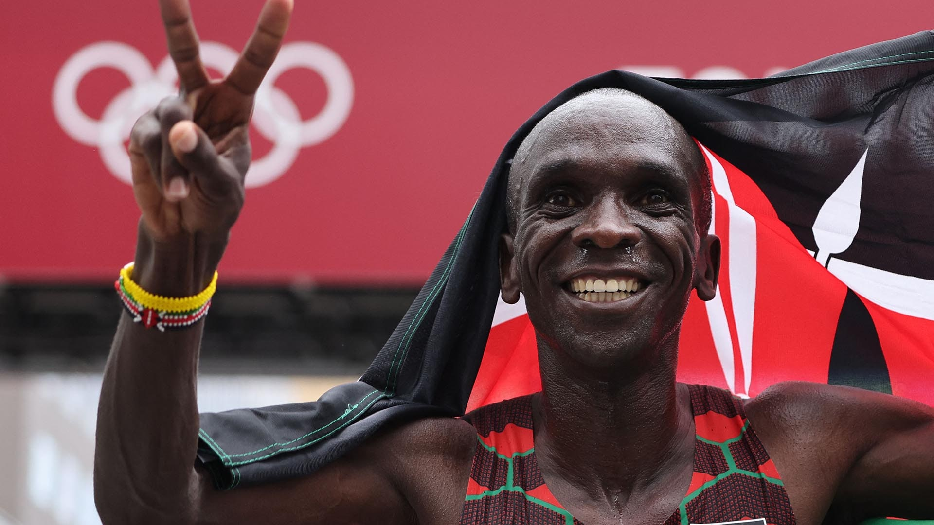 Image for Kipchoge defends marathon gold, cementing title as greatest ever