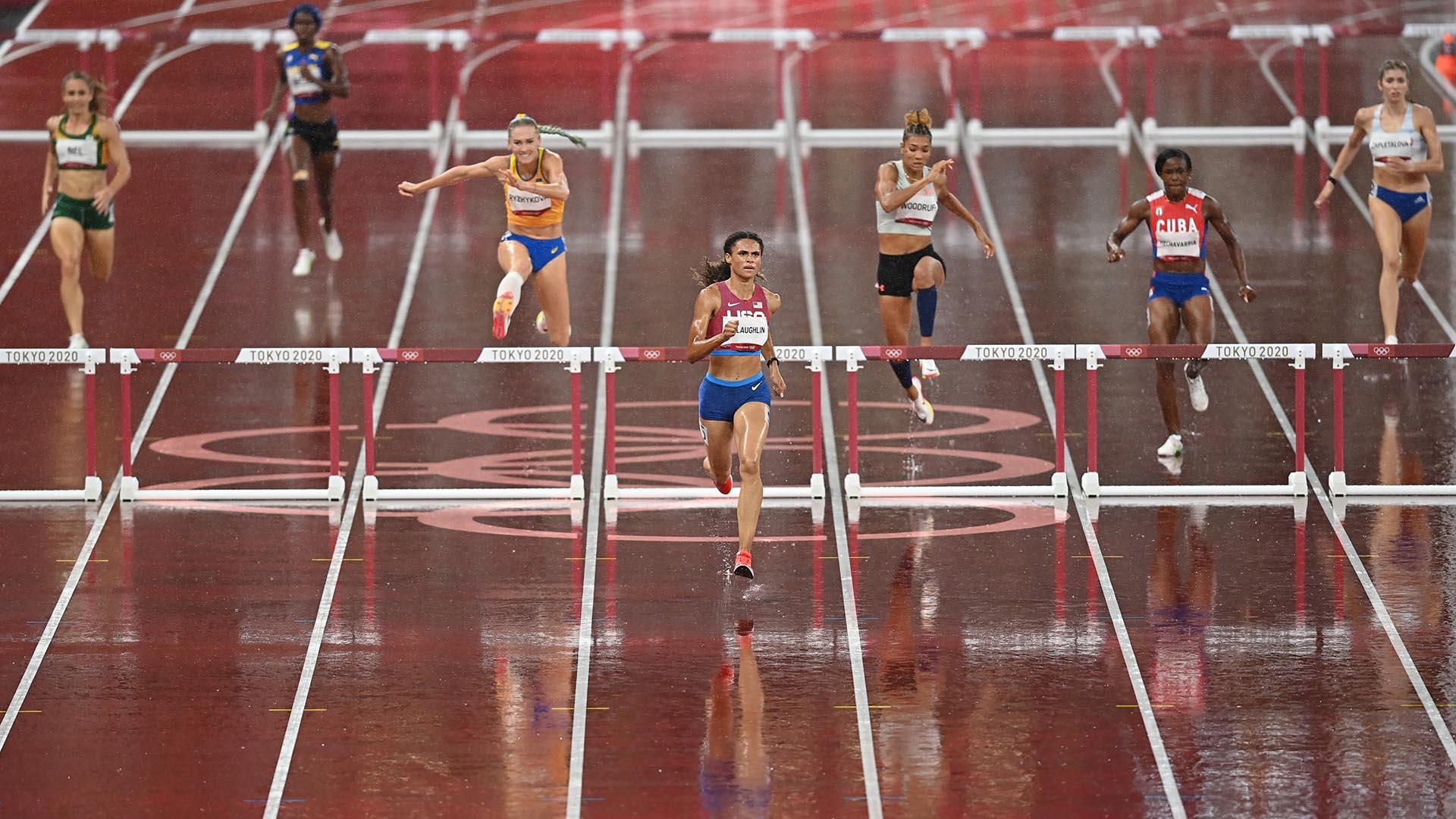 Image for McLaughlin, Muhammad set for 400m hurdles final showdown