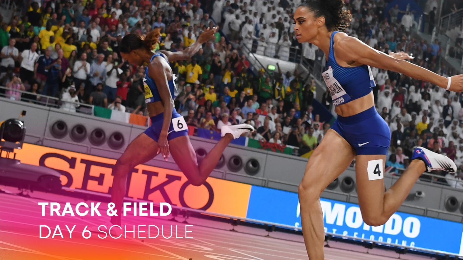 Image for Track & Field Day 6: McLaughlin, Muhammad face off in final