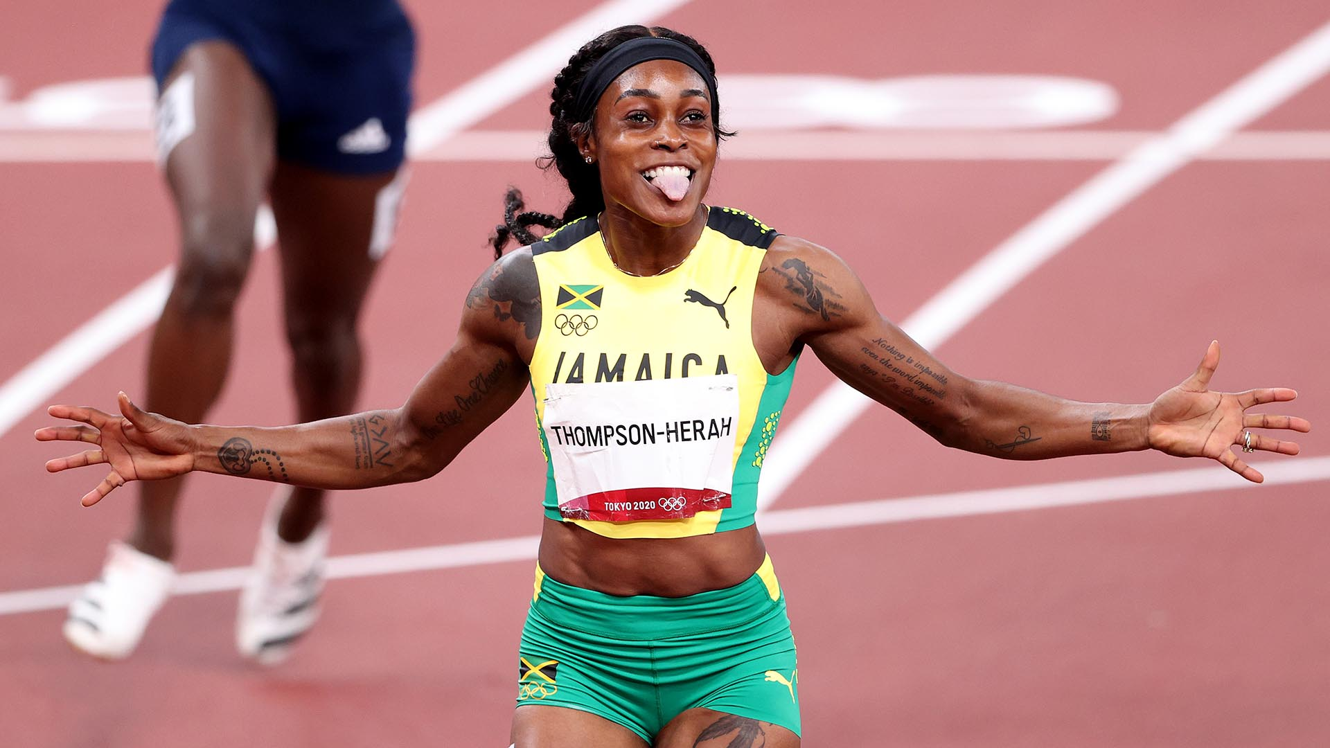 Image for Thompson-Herah attains double-double, Thomas bronze in 200m