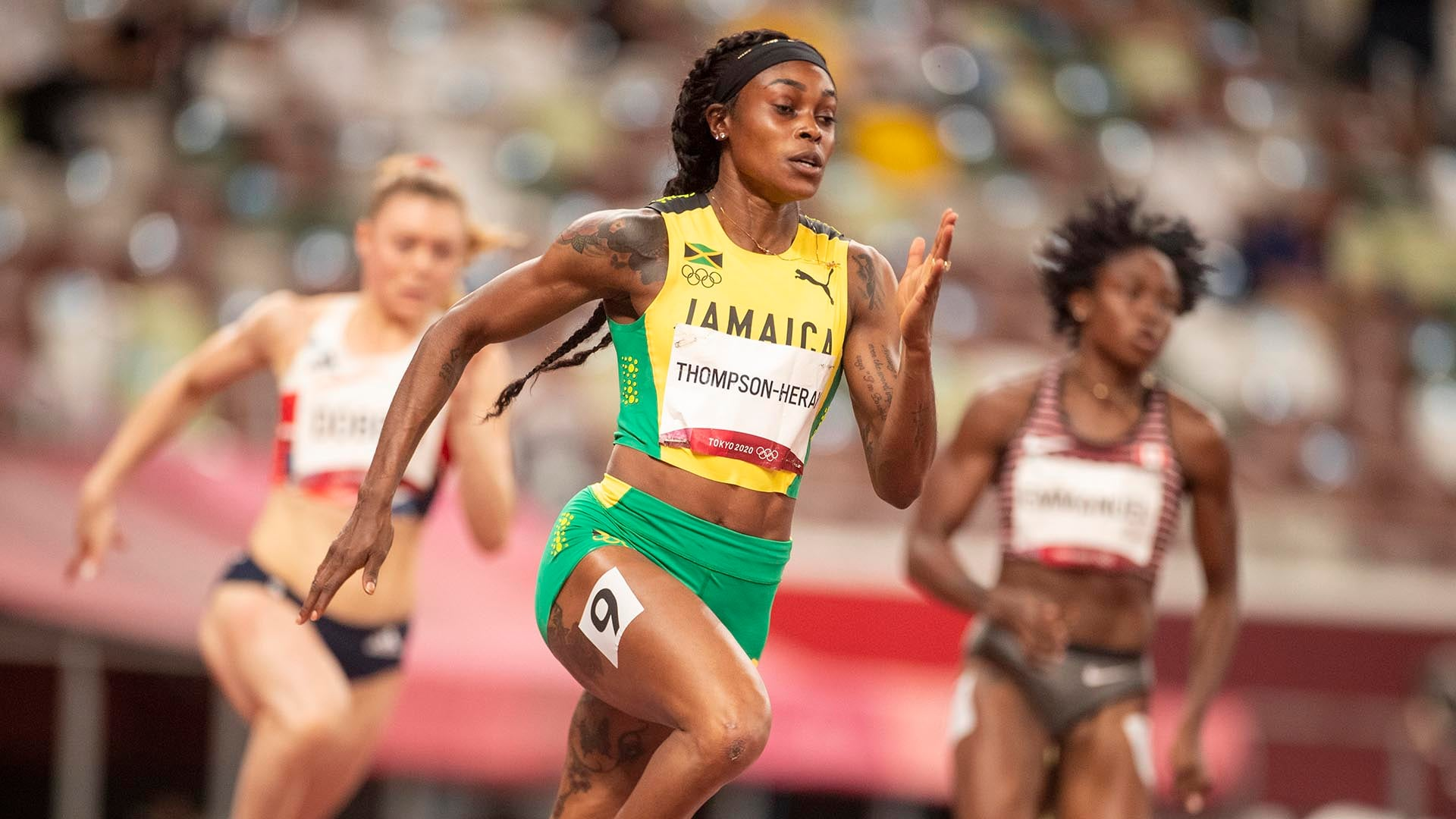 Image for Jamaican sprint duo look strong in 200m semifinals