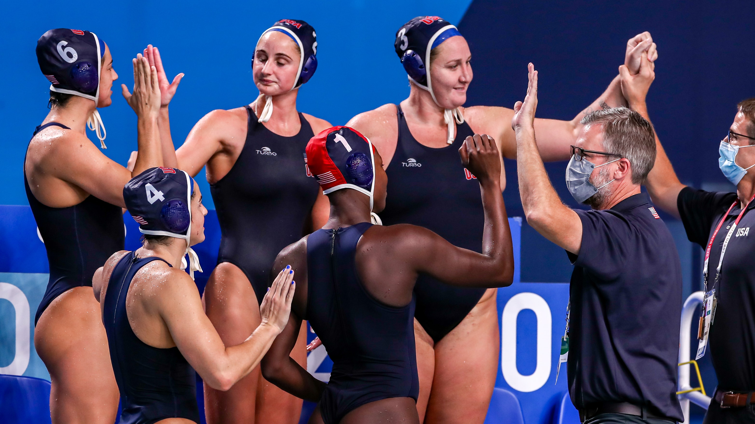 Image for Team USA obliterates Canada in blowout water polo match