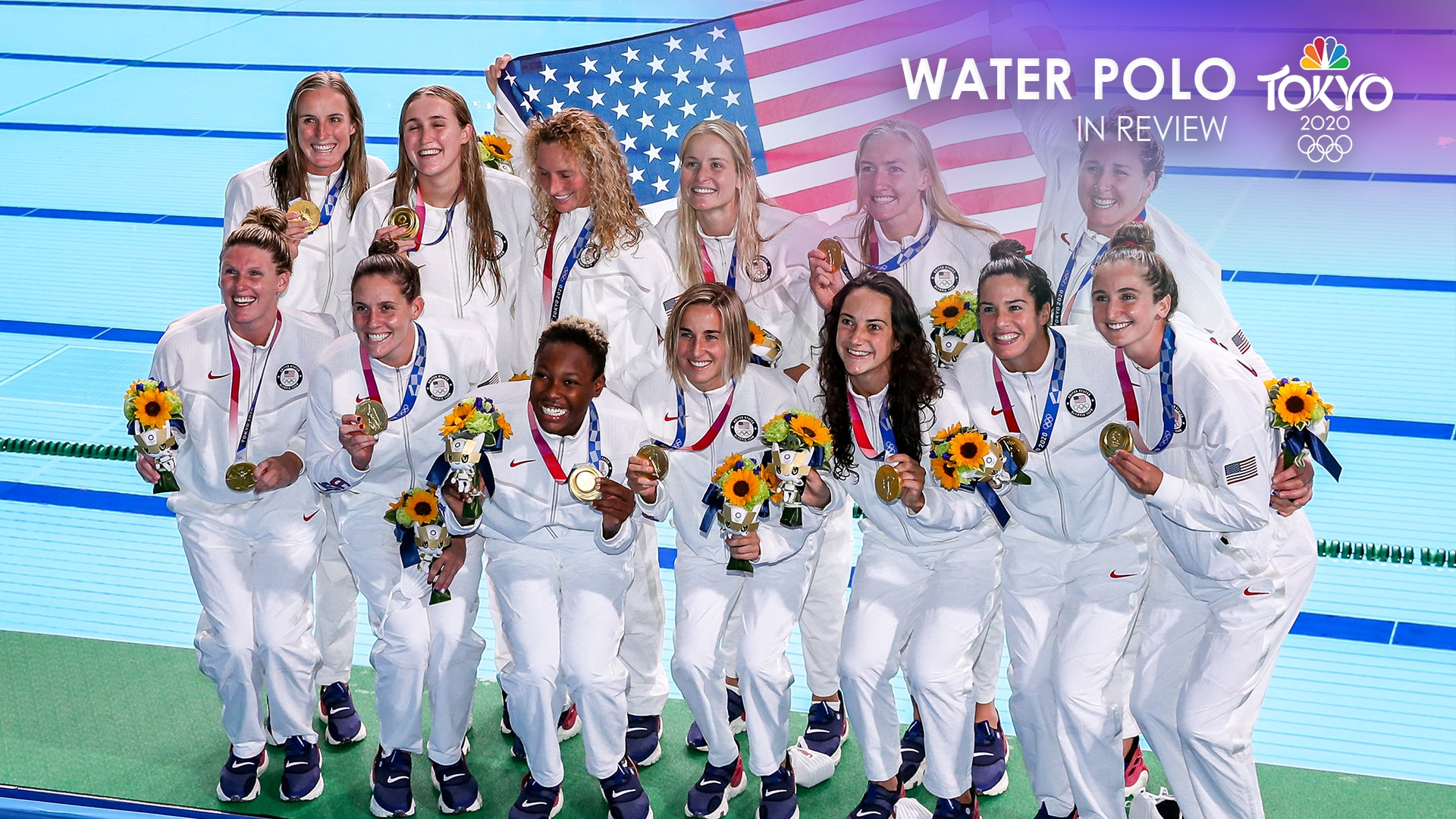 Image for Tokyo Olympics water polo in review: Team USA three-peats, a second straight gold for Serbia
