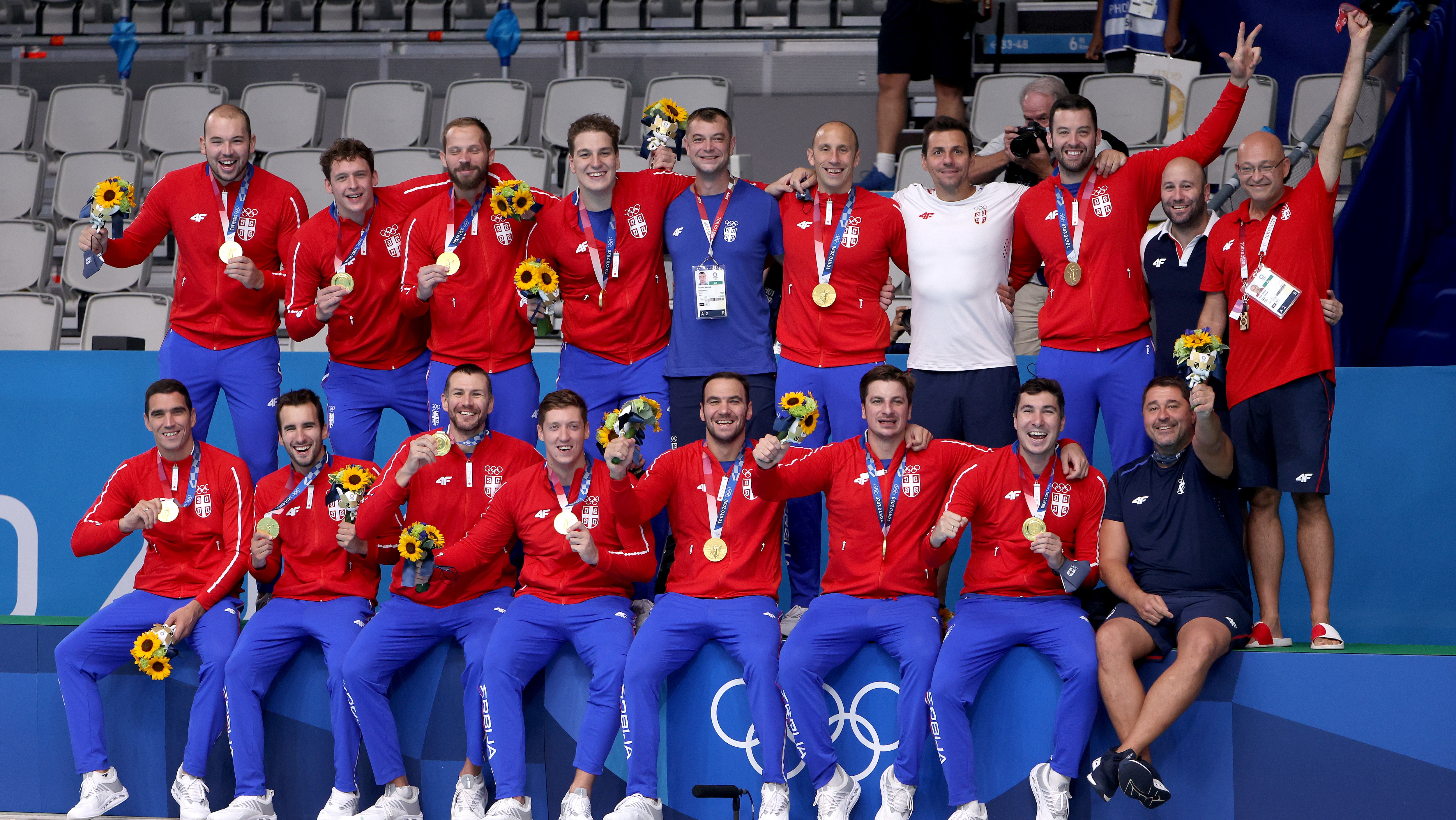 Image for Serbia takes home final gold medal of the Tokyo Olympics