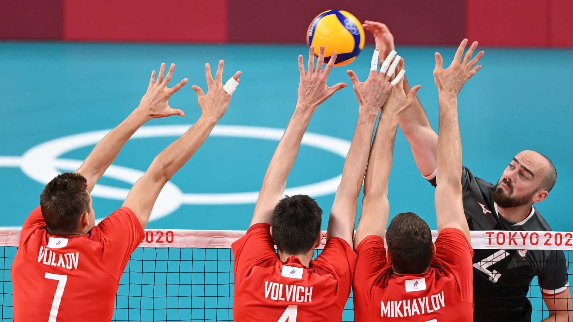 Image for ROC makes quick work of Canada in men's volleyball quarters