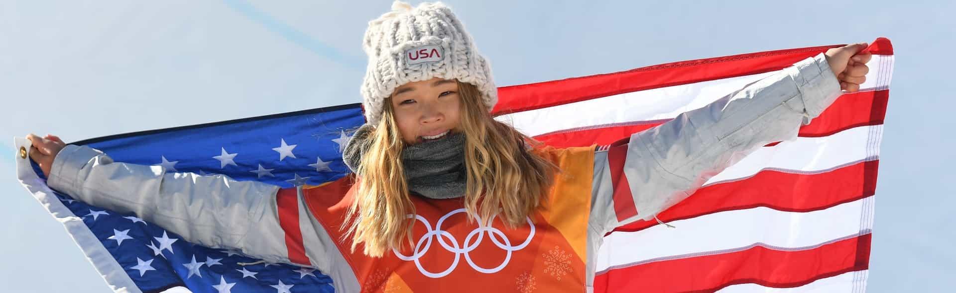 Chloe Kim hero