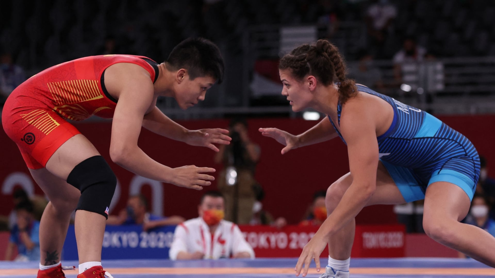 Image for Team USA wrestlers Miracle, Stefanowicz, Sancho out in 1/8 finals