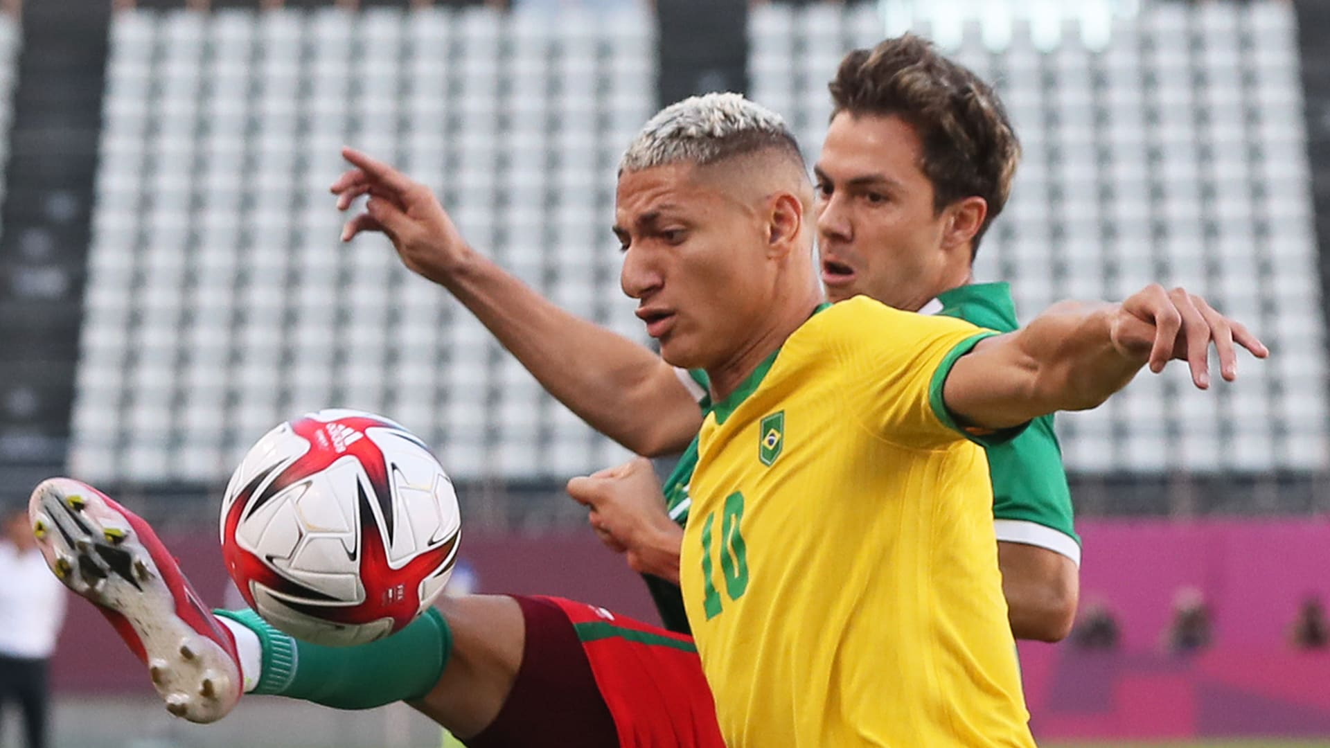 Image for Brazil to play for gold after solving Mexico in penalties