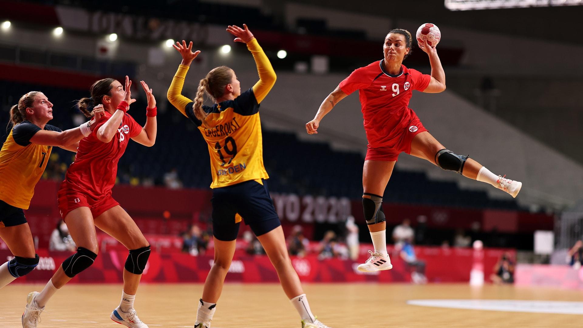 Image for Norway steamrolls Sweden to claim bronze in women's handball