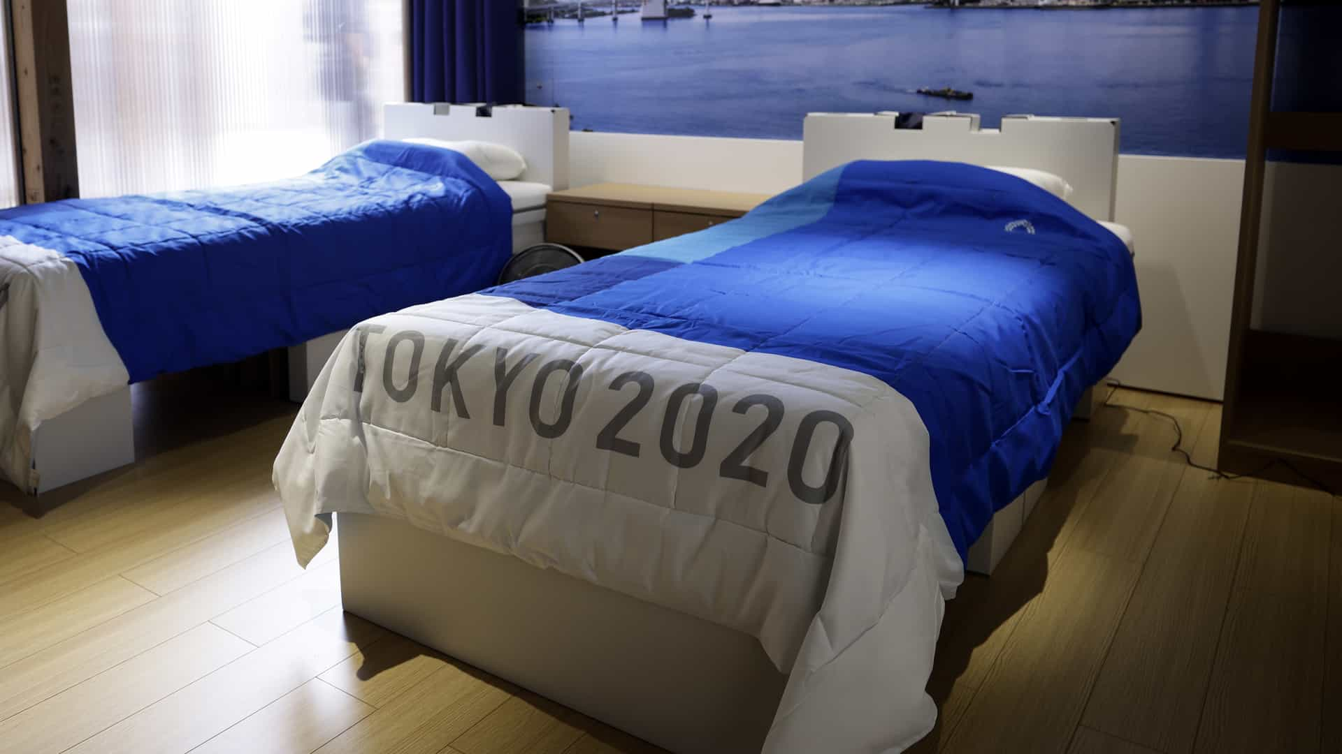 Image for Plastic podiums, recycled medals, cardboard beds part of Tokyo Games' sustainability plan
